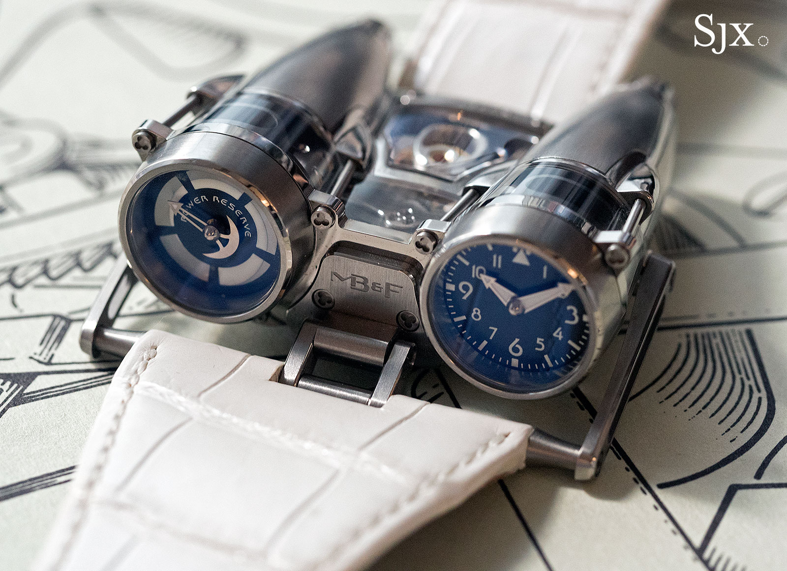 Phillips HKWA3 MB&F HM4 Thunderbolt 2
