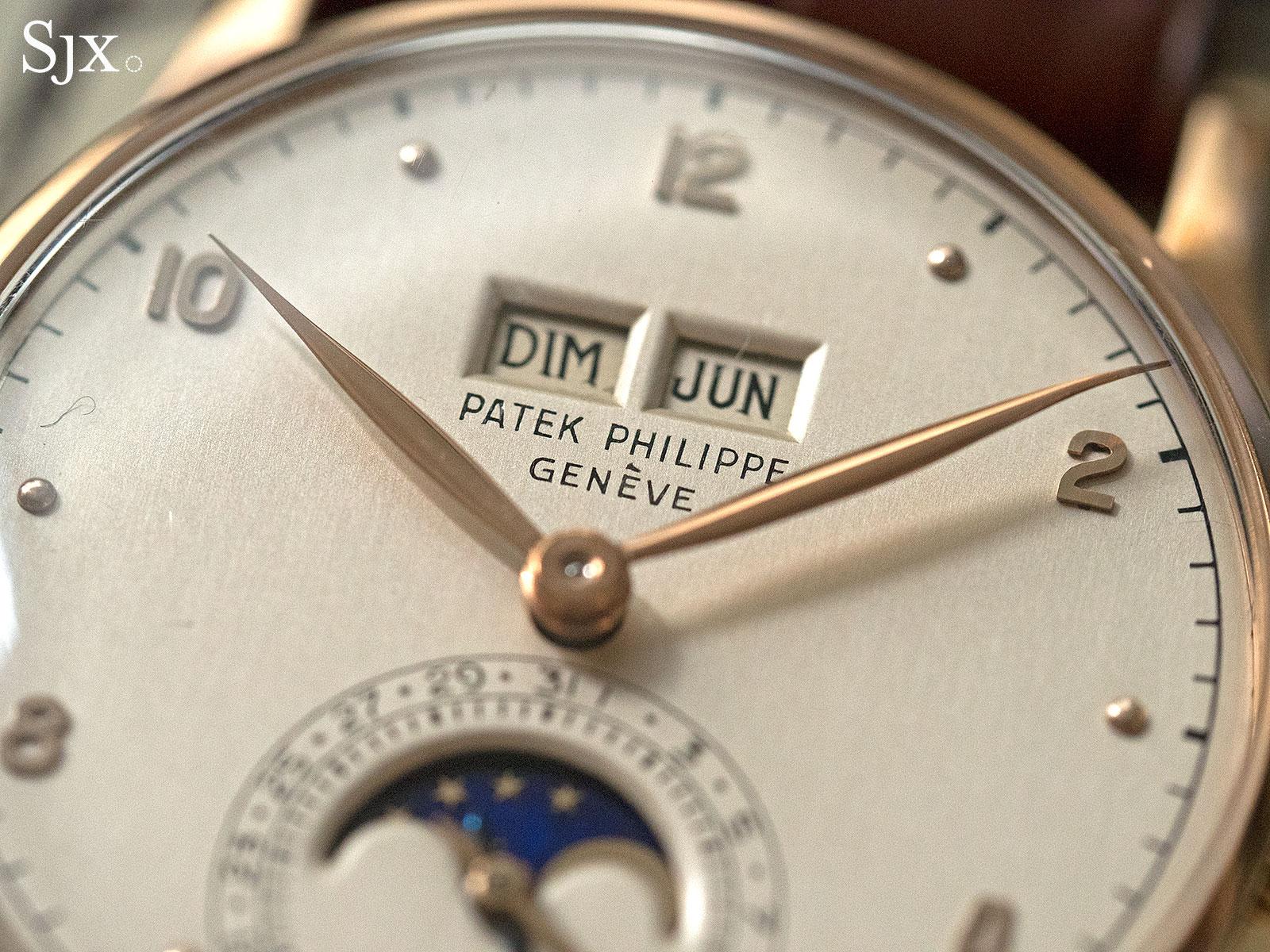 Phillips HKWA3 Patek Philippe 1526 perpetual calendar pink gold 2
