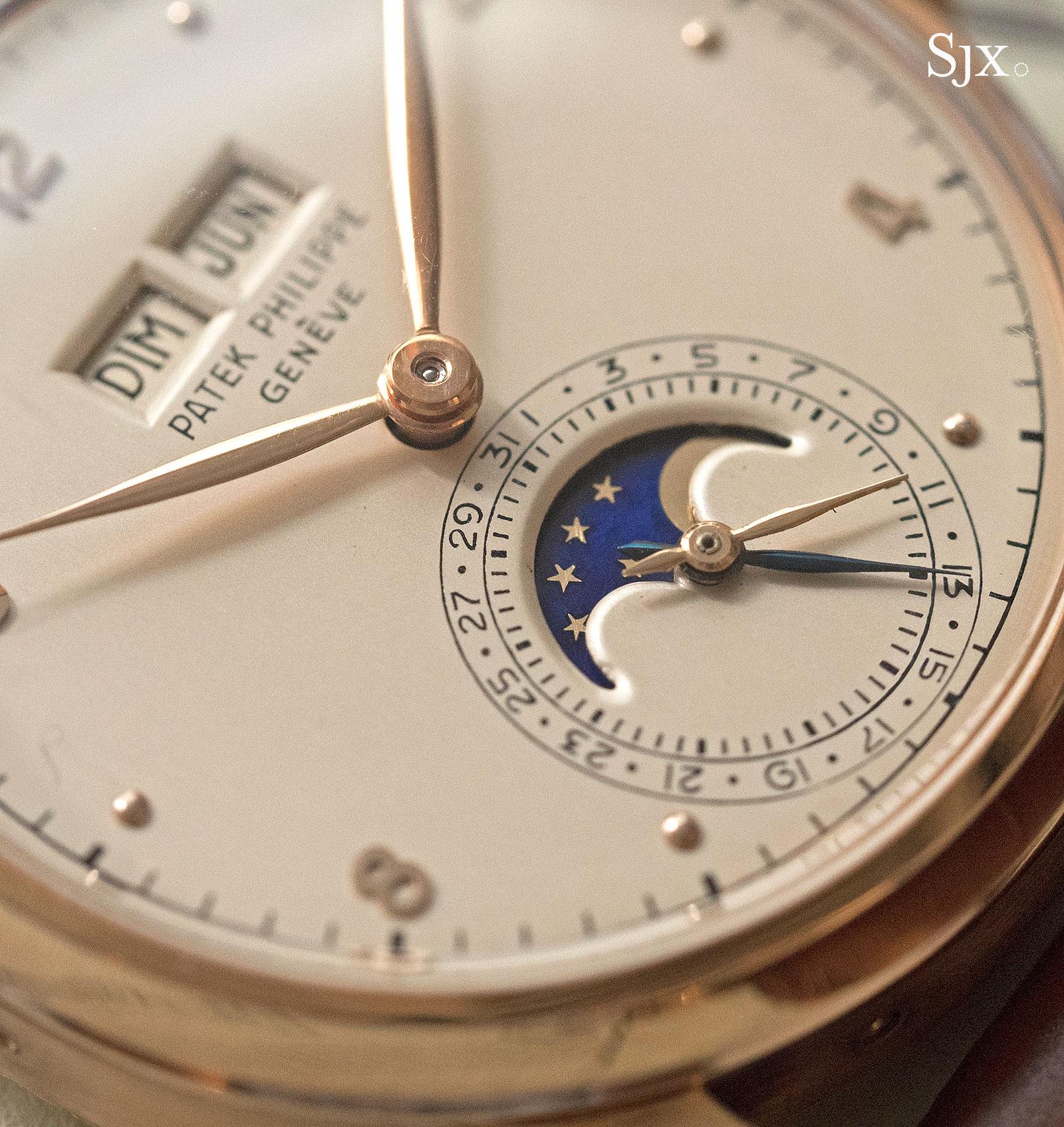 Phillips HKWA3 Patek Philippe 1526 perpetual calendar pink gold 3