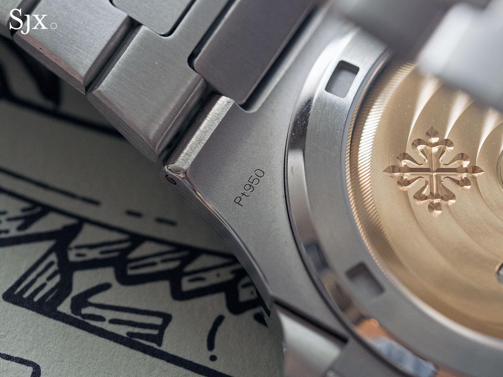 Phillips HKWA3 Patek Philippe Nautilus platinum 5711P - 4