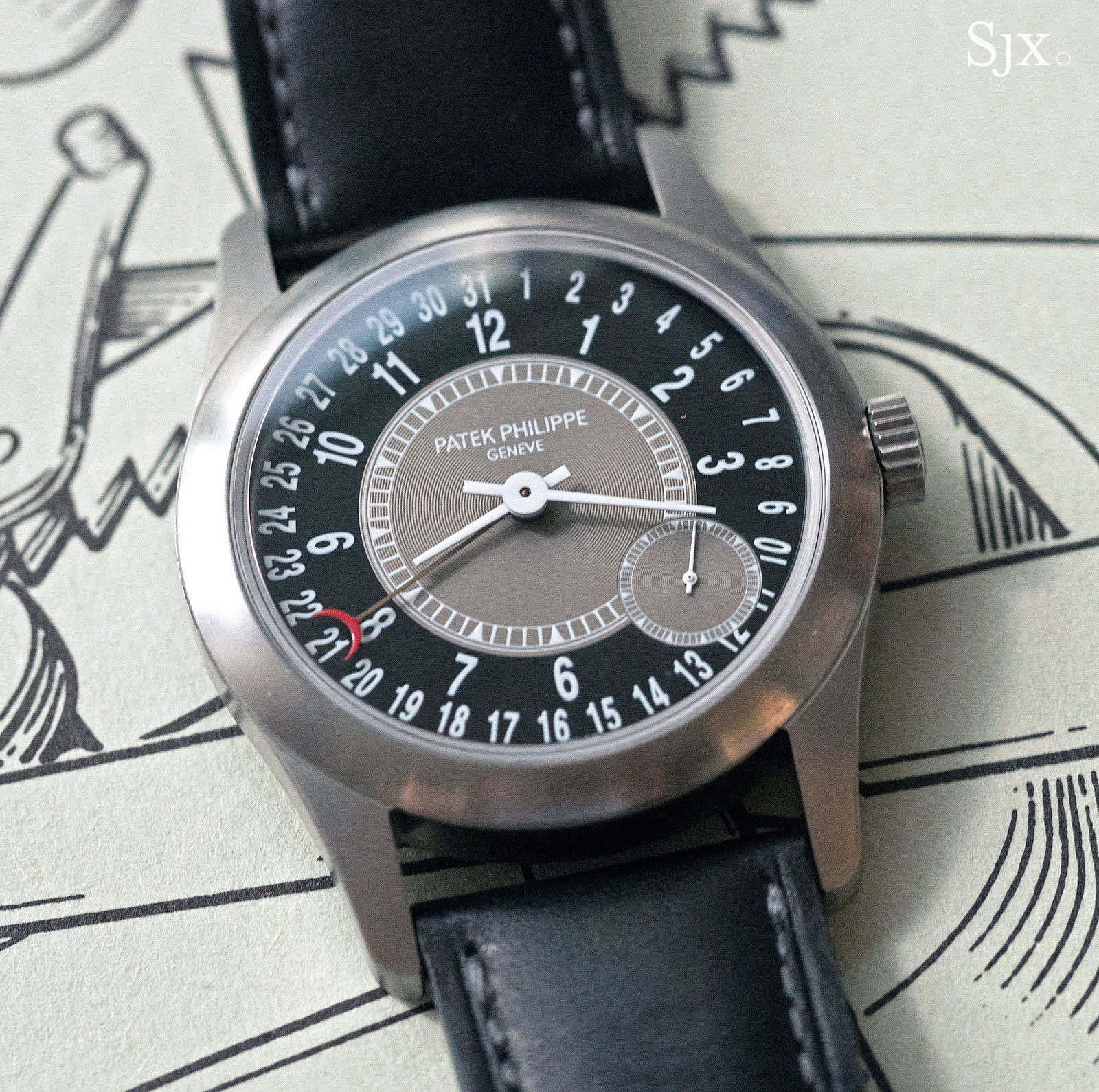Phillips HKWA3 Patek Philippe Ref. 6000T Titanium Children Action 1