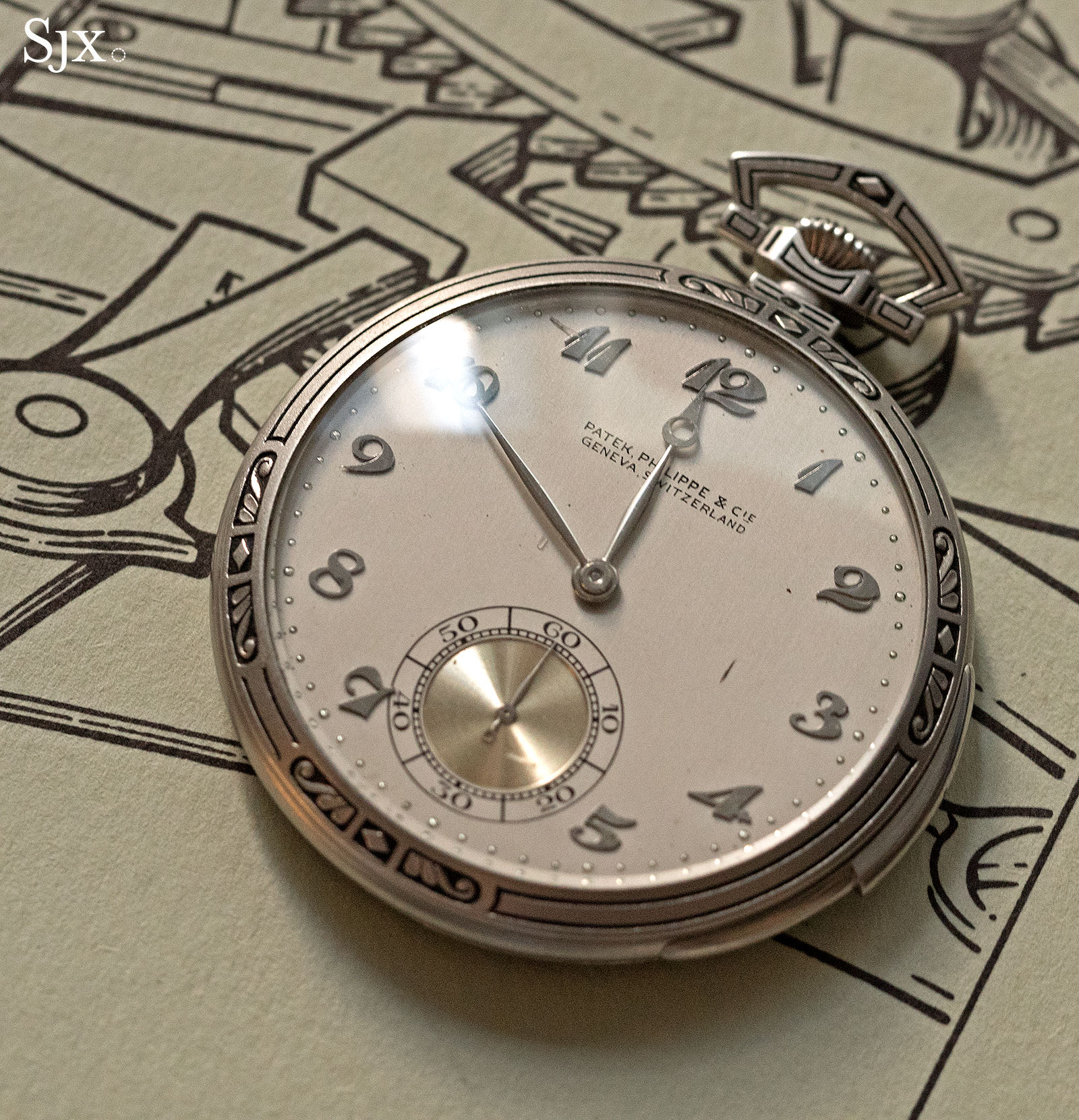 Phillips HKWA3 Patek Philippe minute repeater pocket watch 1