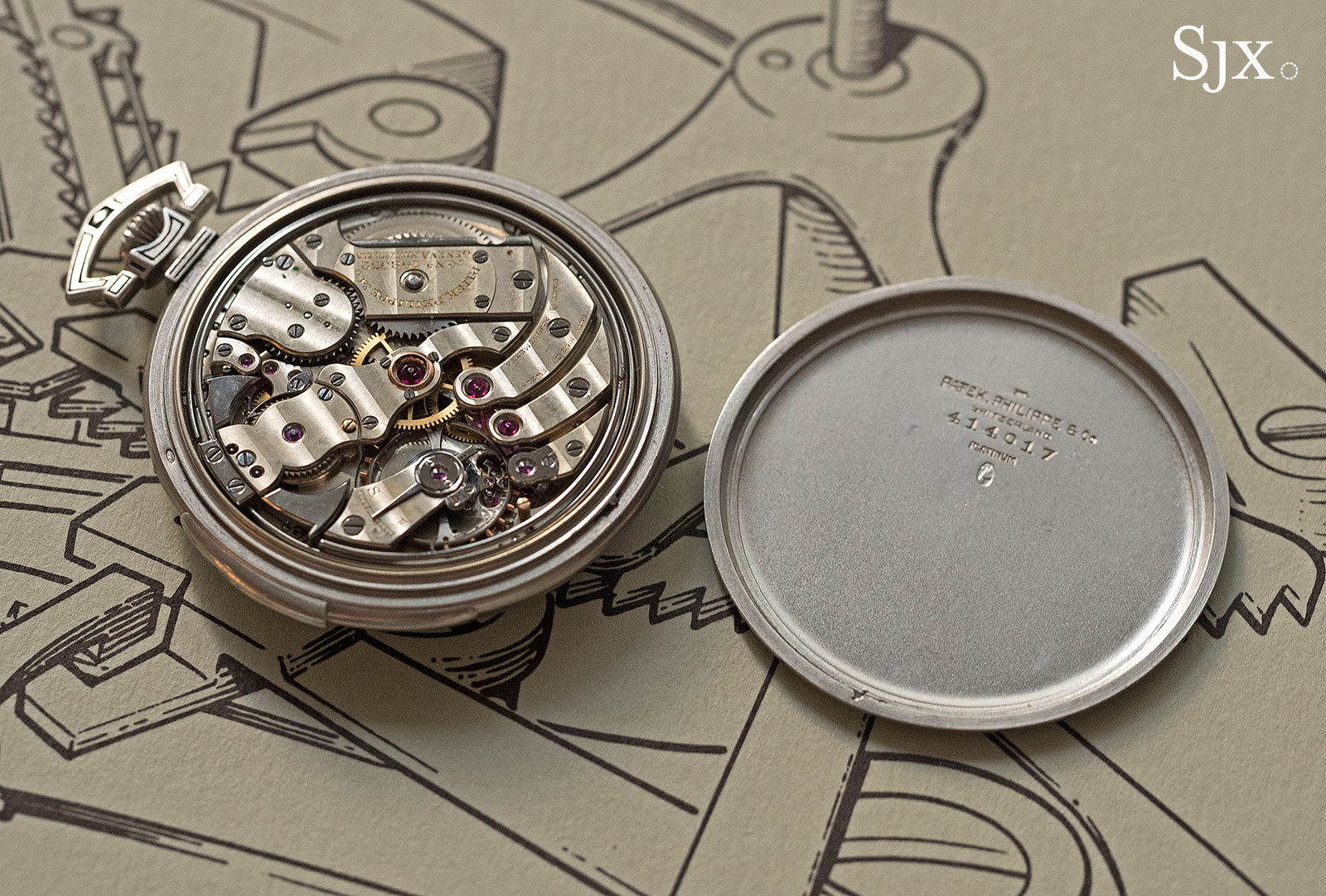 Phillips HKWA3 Patek Philippe minute repeater pocket watch 3