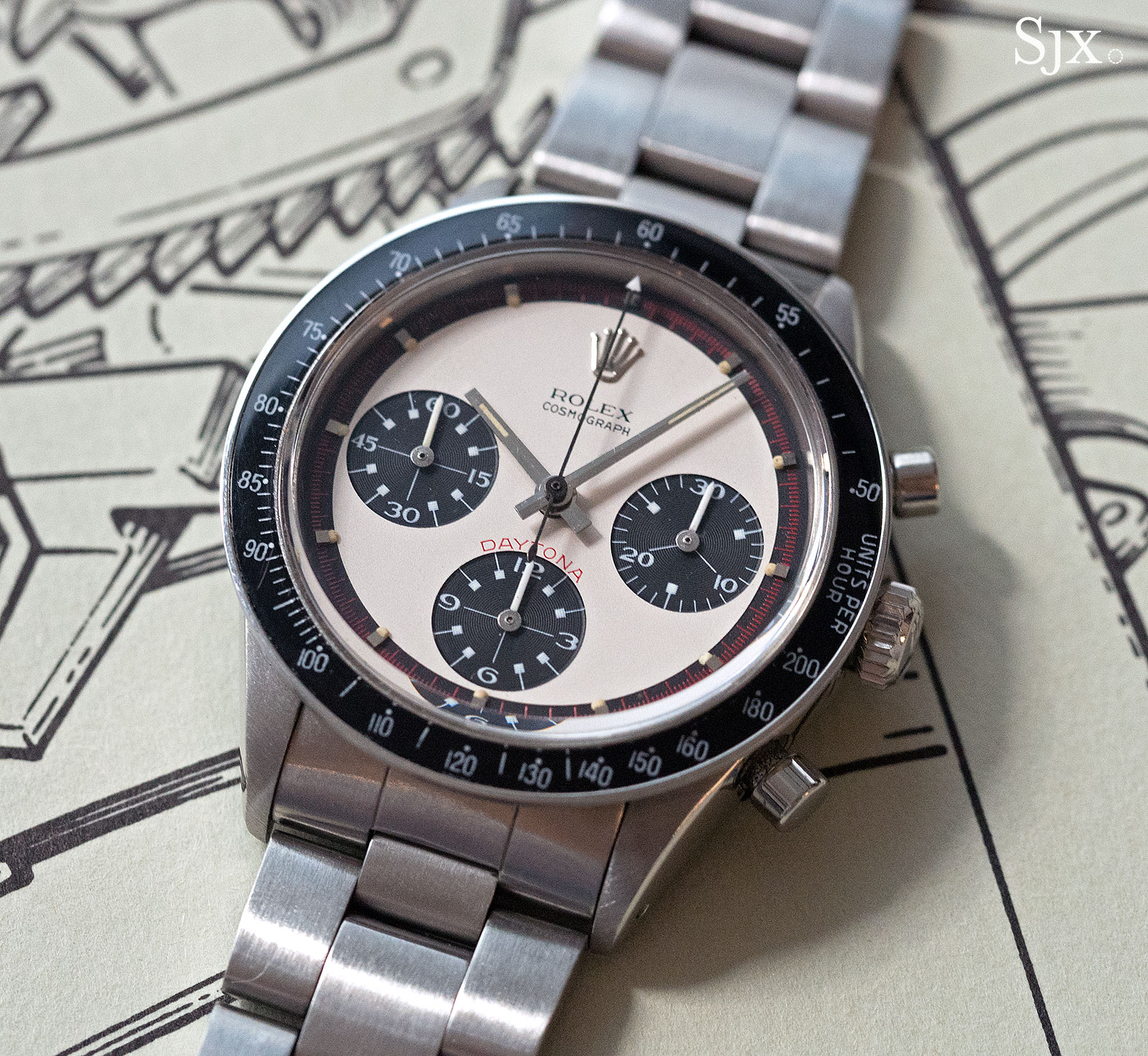 Phillips HKWA3 Rolex Daytona Paul Newman 6241 - 1