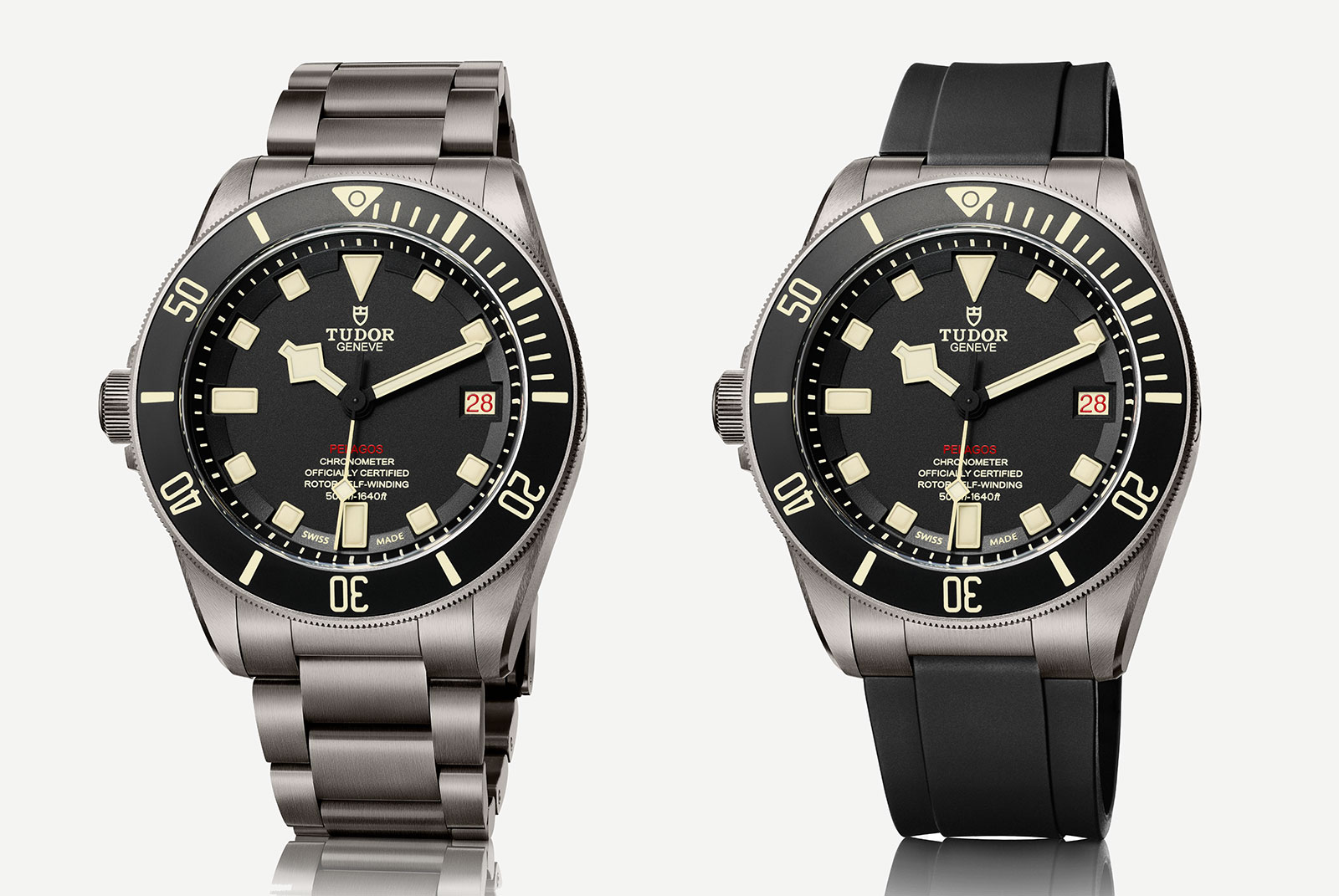 Tudor introduces the pelagos lhd a left handed destro - Tudor dive watch price ...