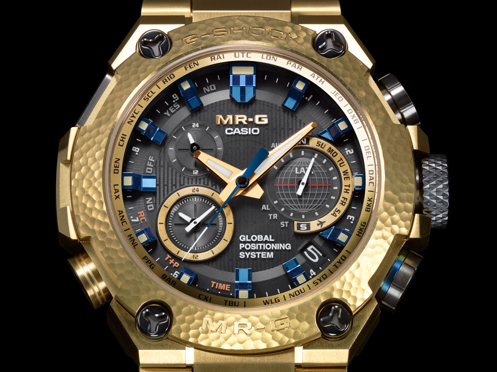 Most Expensive Watch In The World With Price >> Introducing the Casio G-Shock MR-G Gold Hammer Tone, Where ...