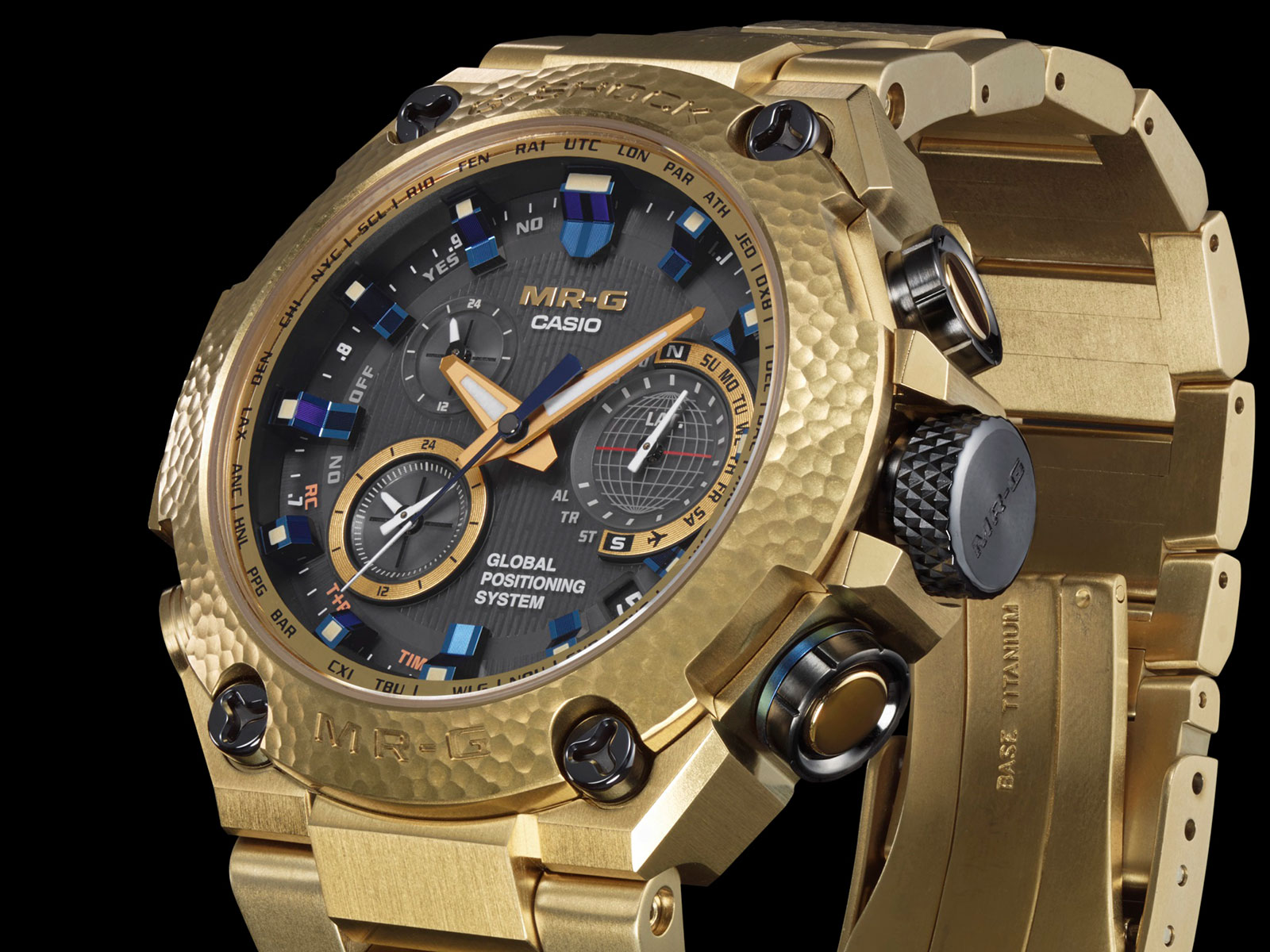 Casio G-Shock MR-G Gold Hammer Tone 3