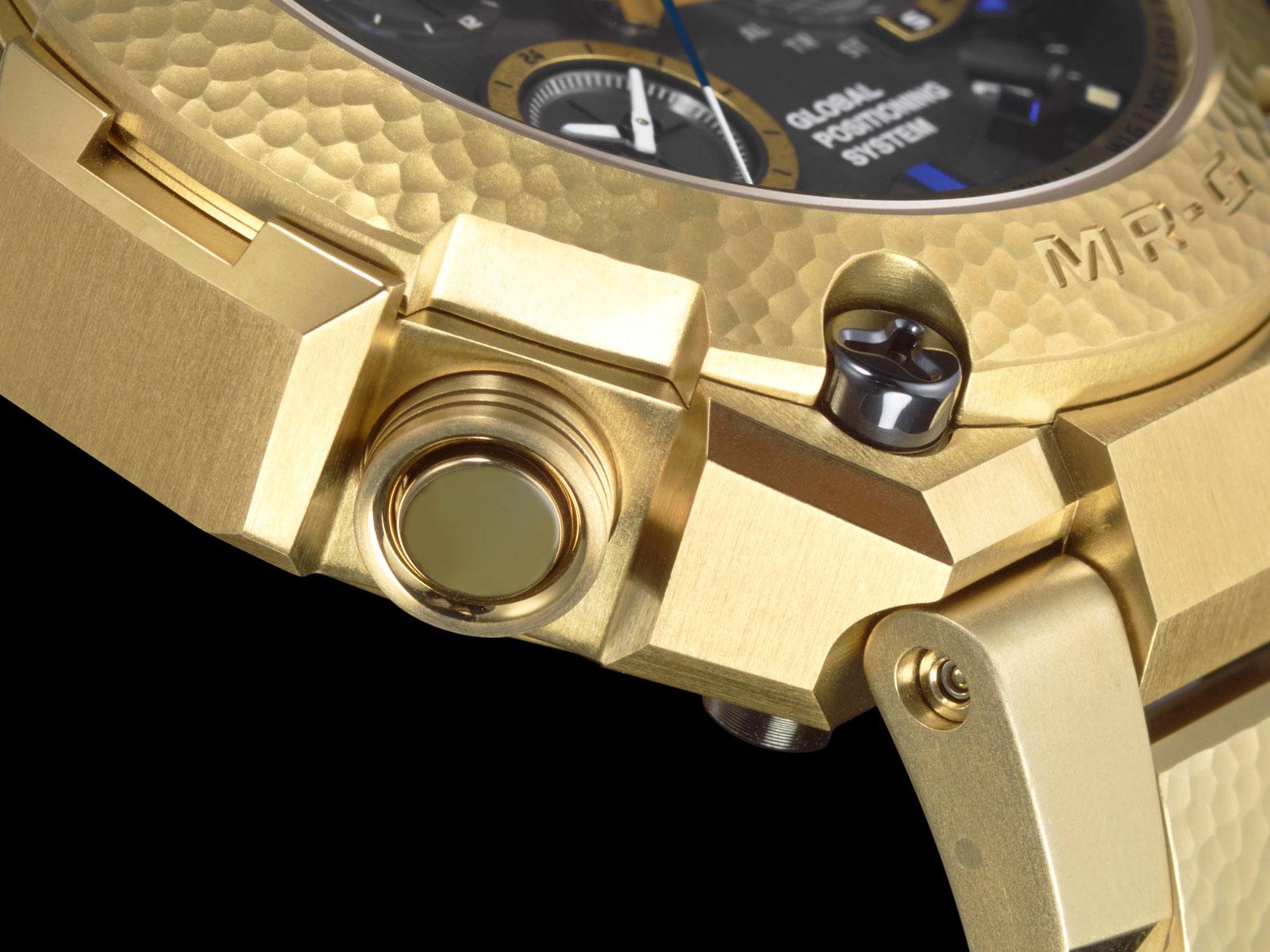 Casio G-Shock MR-G Gold Hammer Tone 4