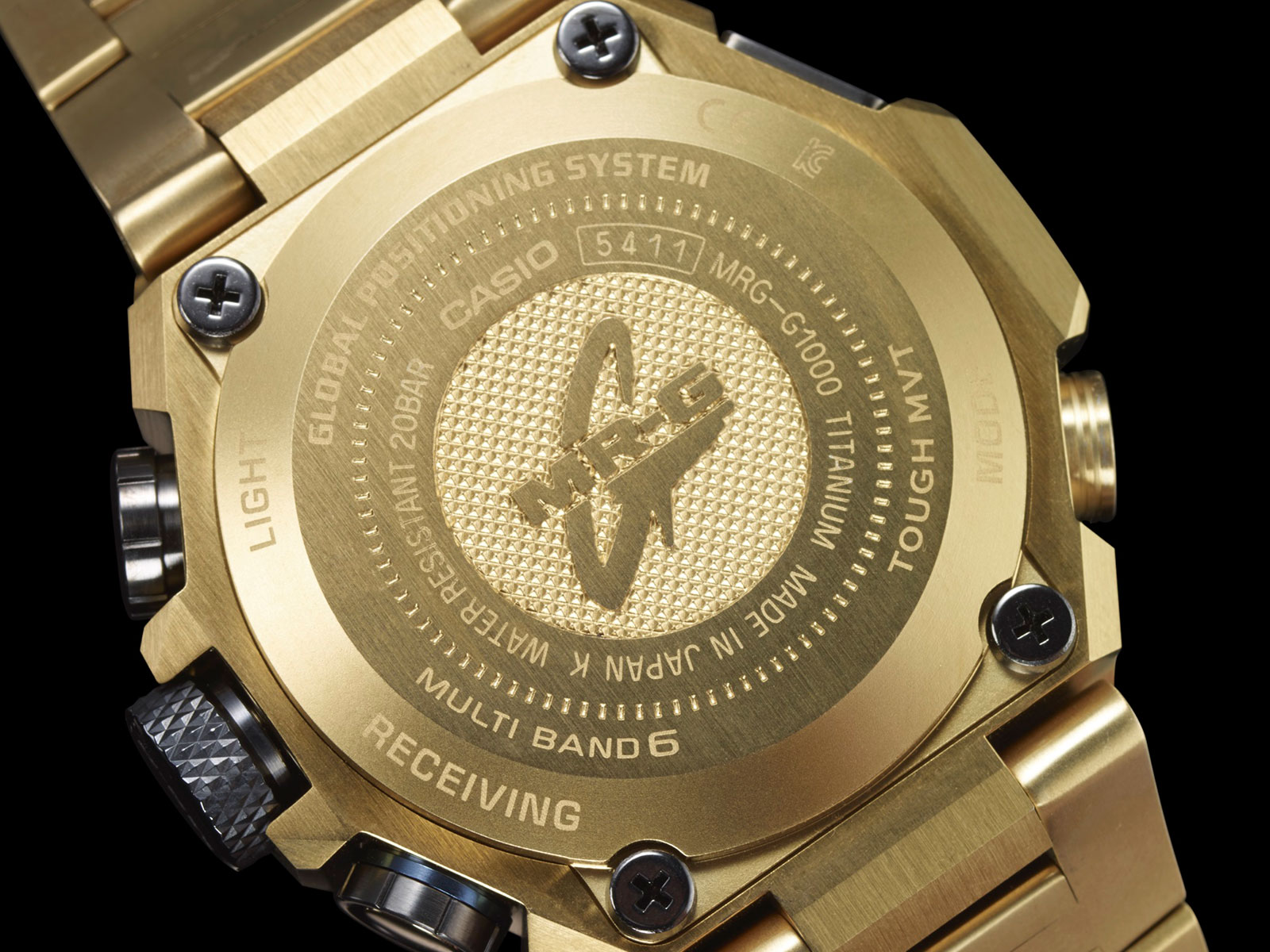 Casio G-Shock MR-G Gold Hammer Tone 6