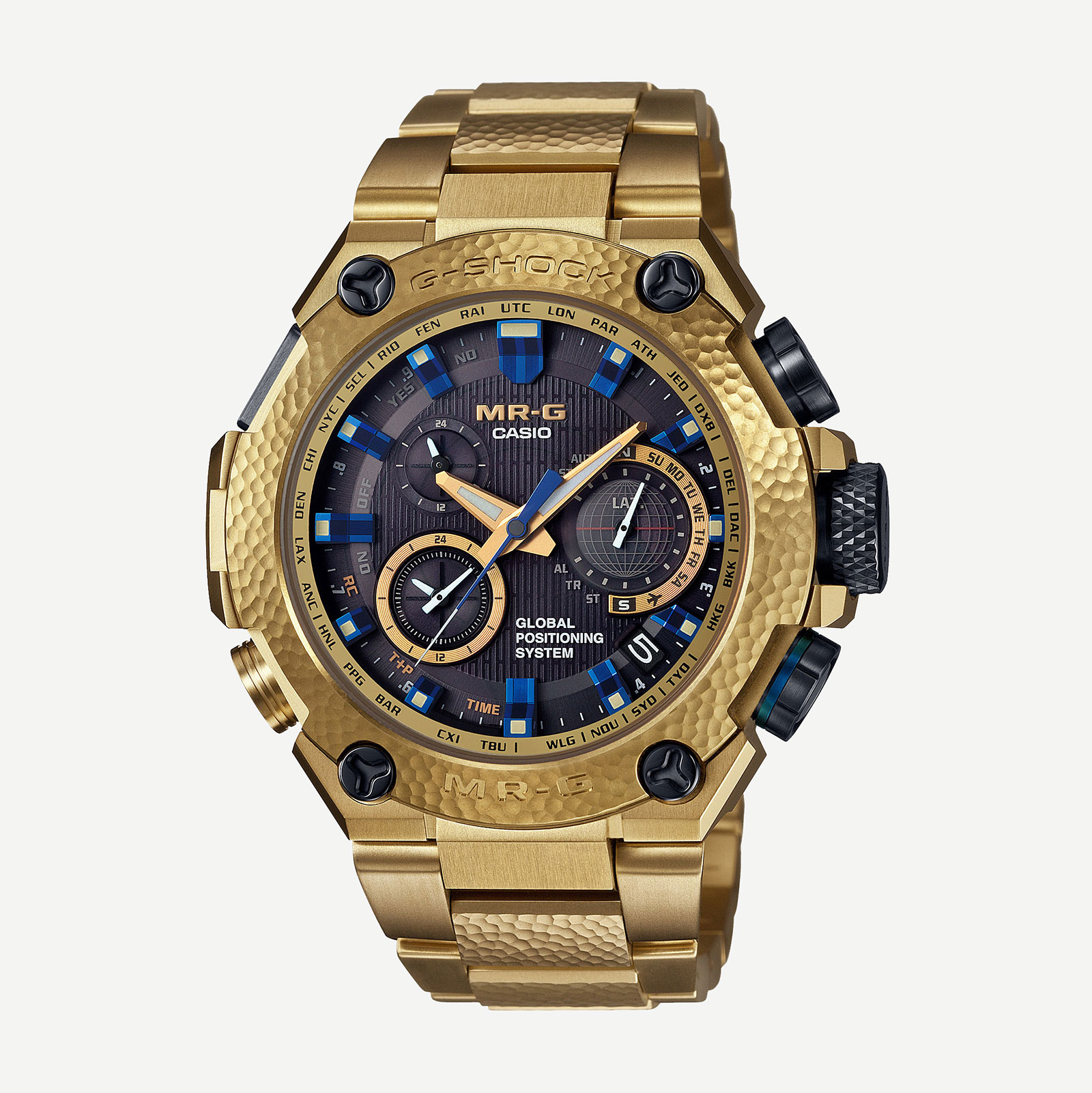 Casio G-Shock MR-G Gold Hammer Tone 7