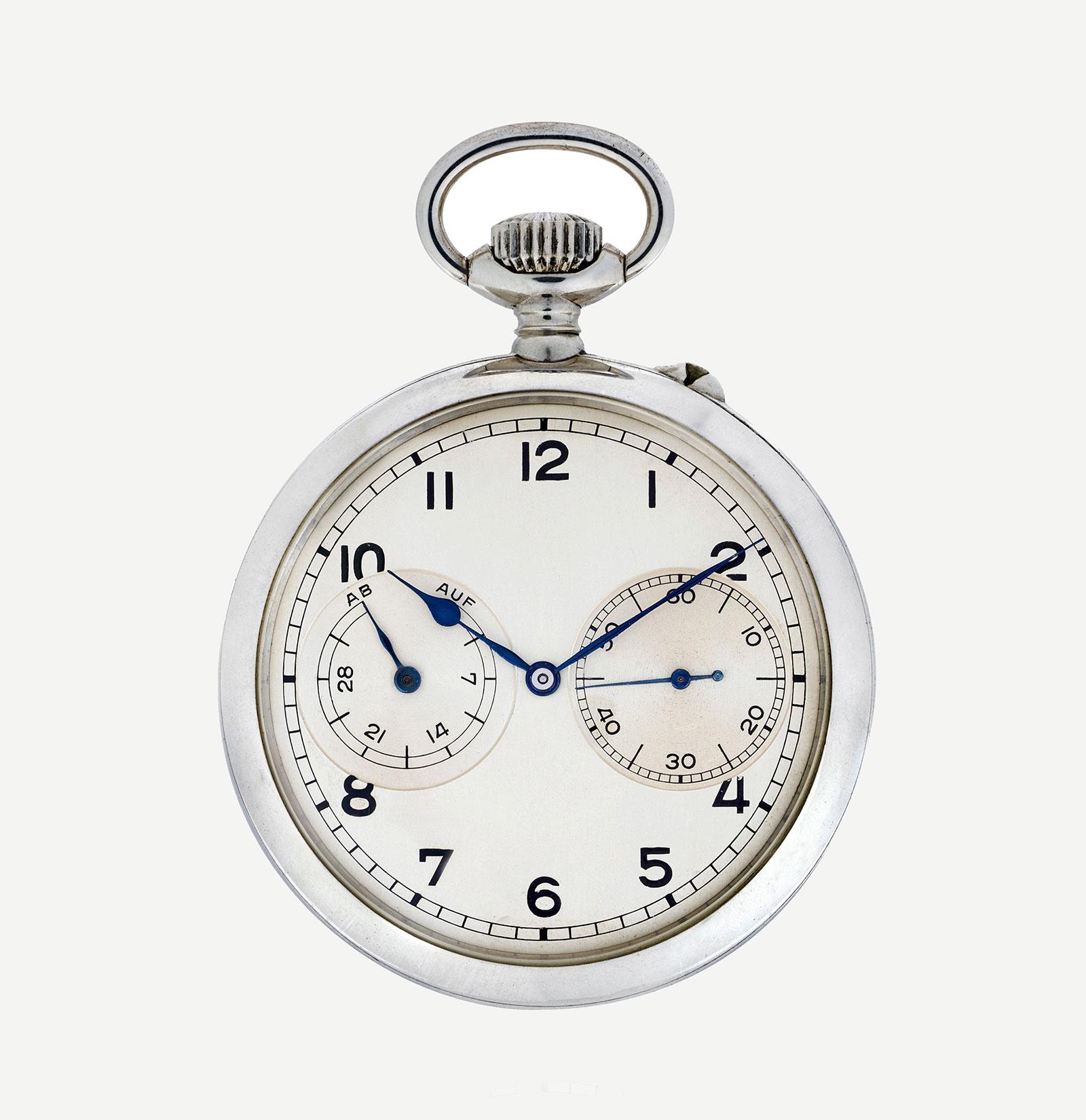 Christie's Online Lange deck watch