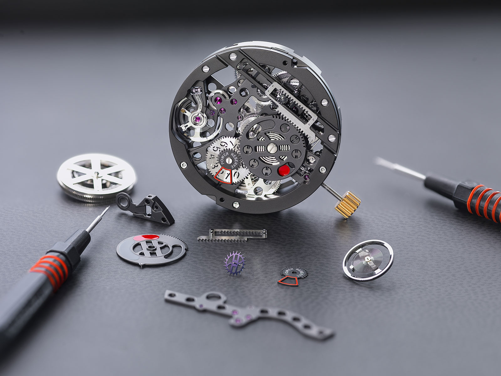 Hublot Big Bang MECA-10 movement 1