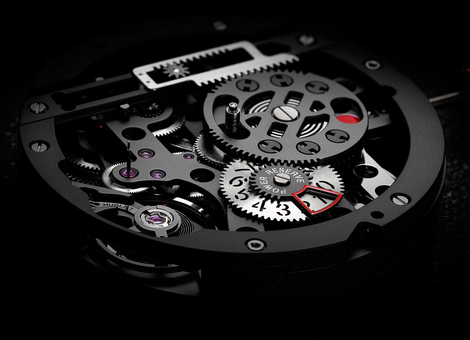 Hublot Big Bang MECA-10 movement 4