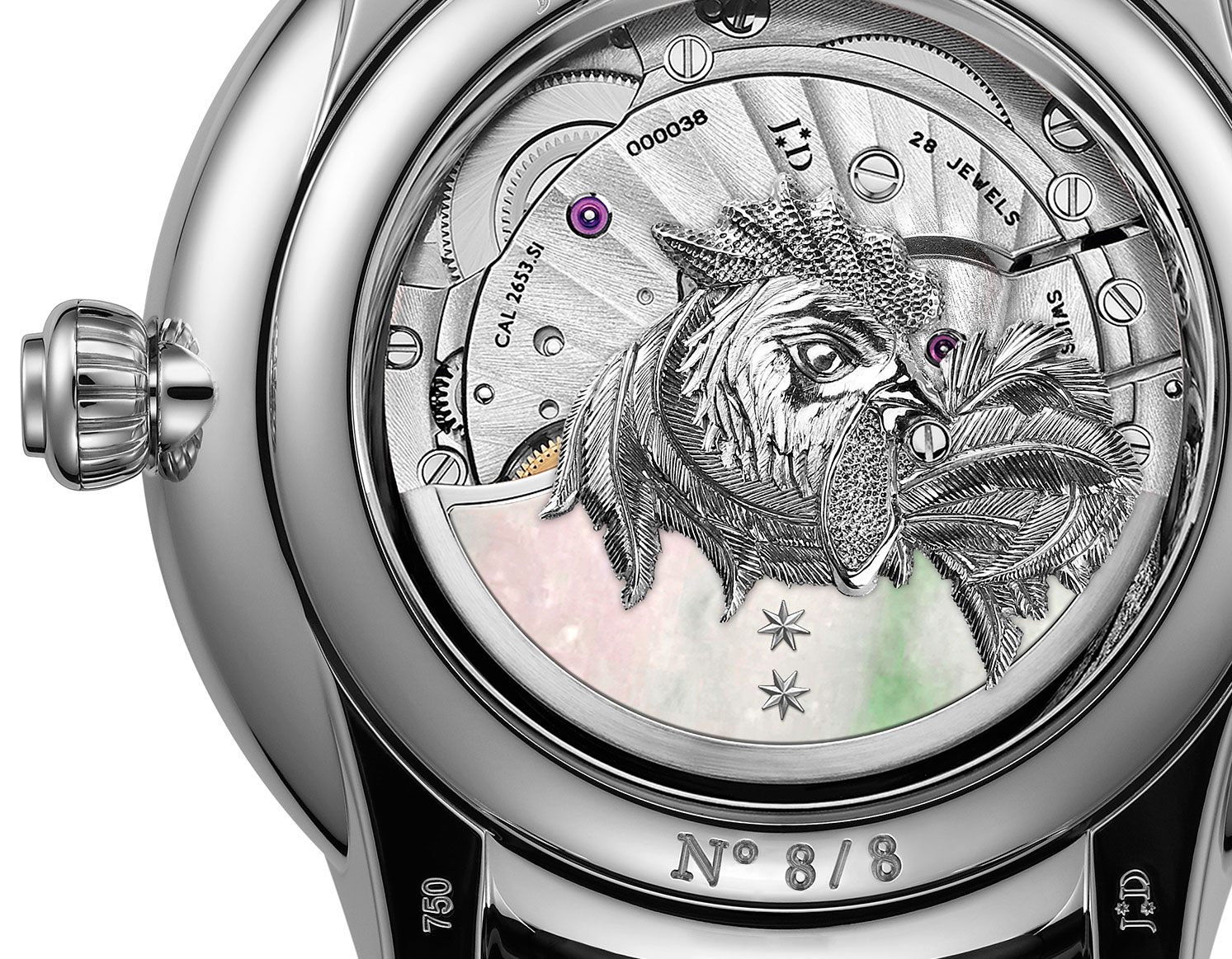 Jaquet Droz Petite Heure Minute Rooster 3