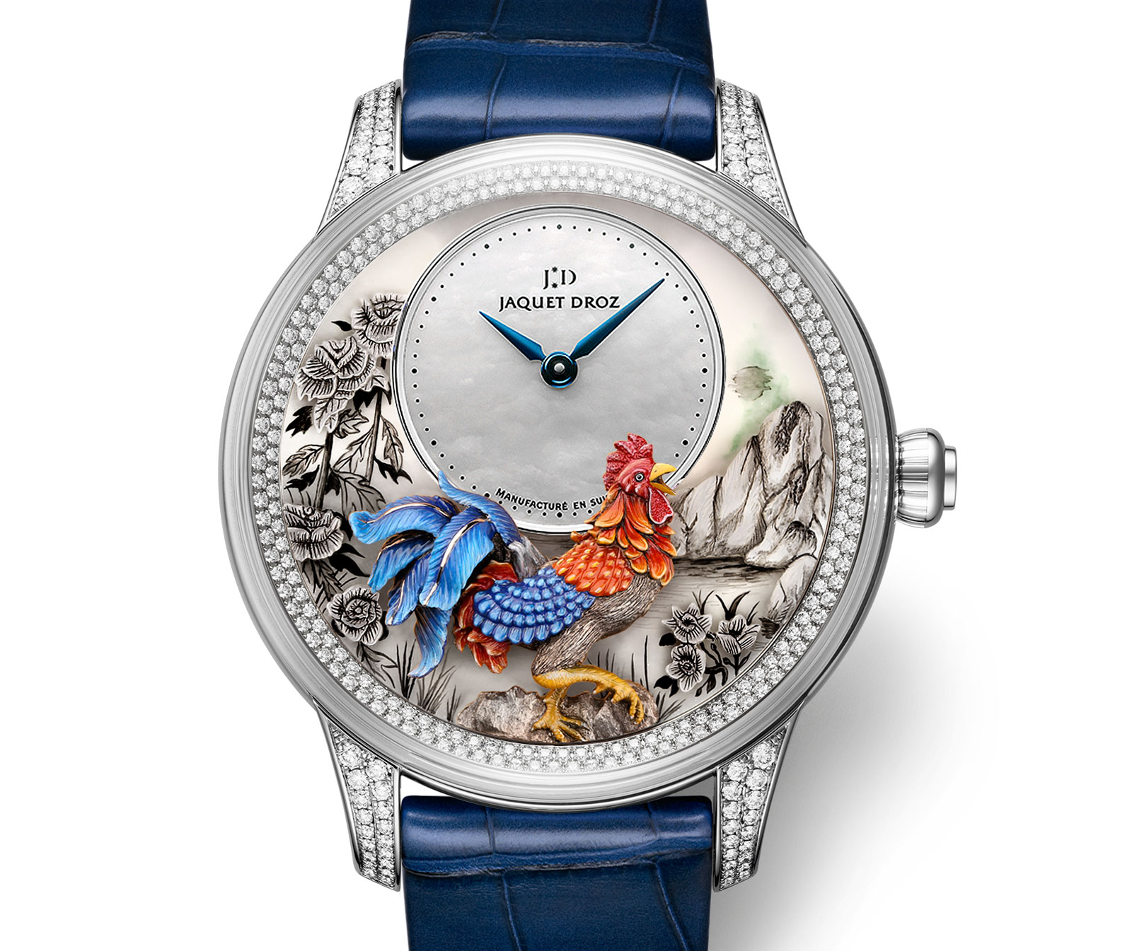 Jaquet Droz Petite Heure Minute Rooster 4