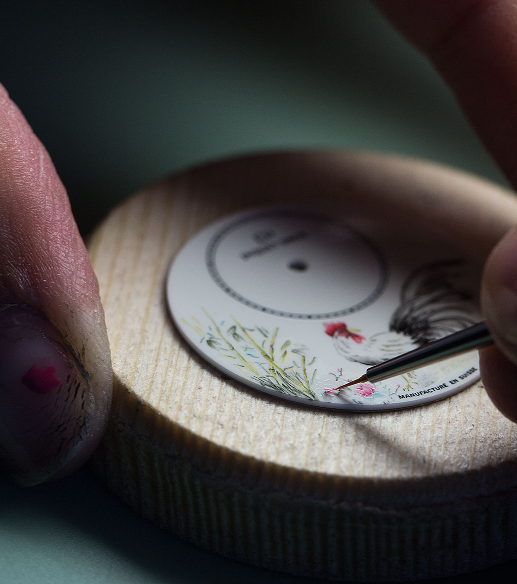 Jaquet Droz Petite Heure Minute Rooster 7