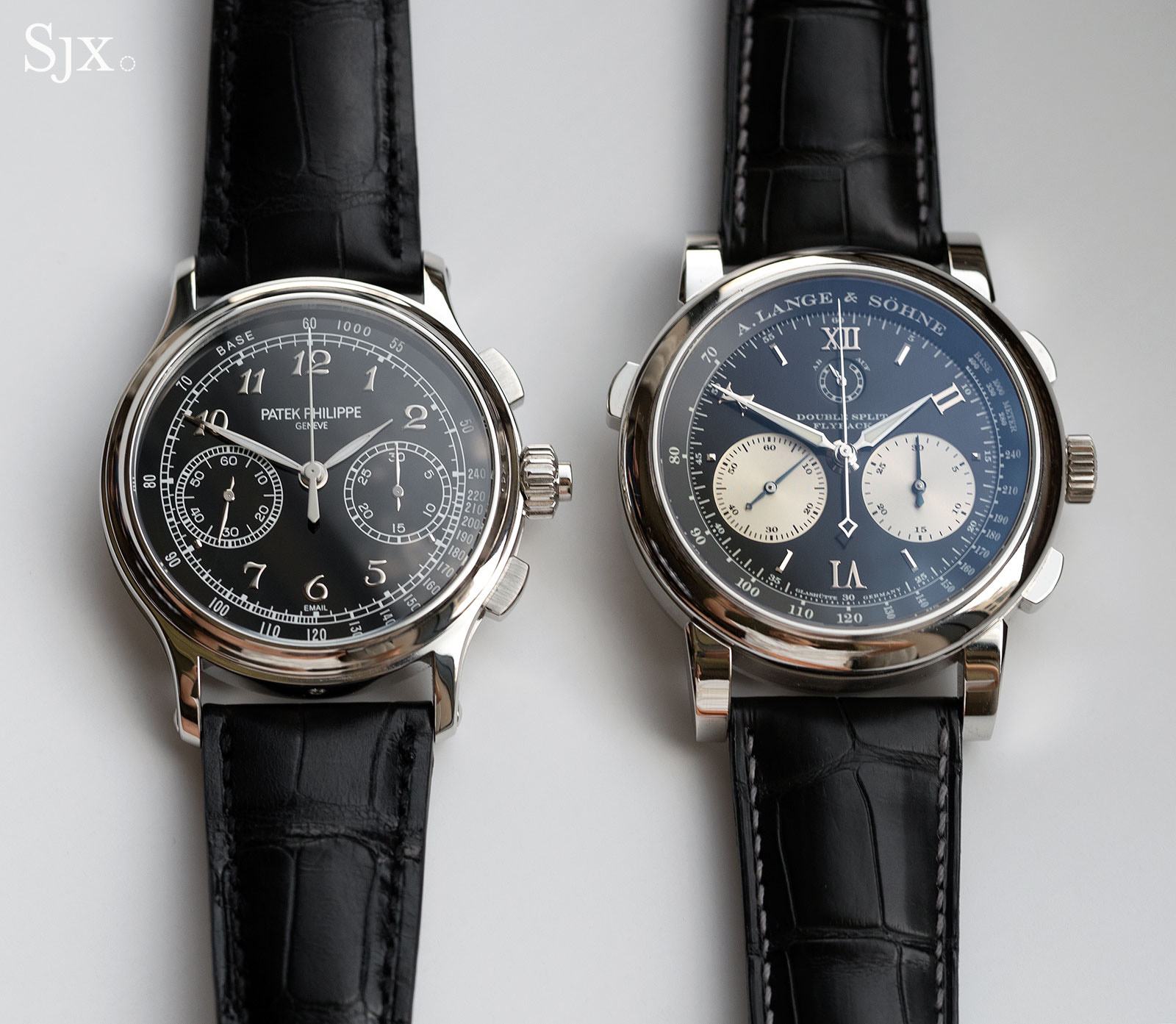 Lange Double Split Patek 5370 comparison 1