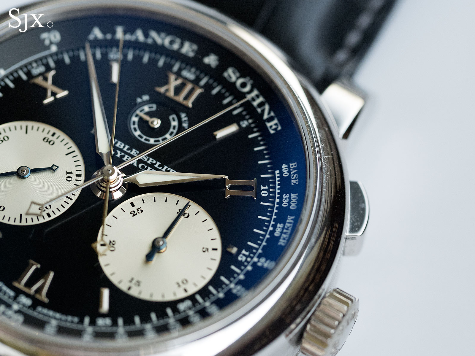 Lange Double Split Patek 5370 comparison 13