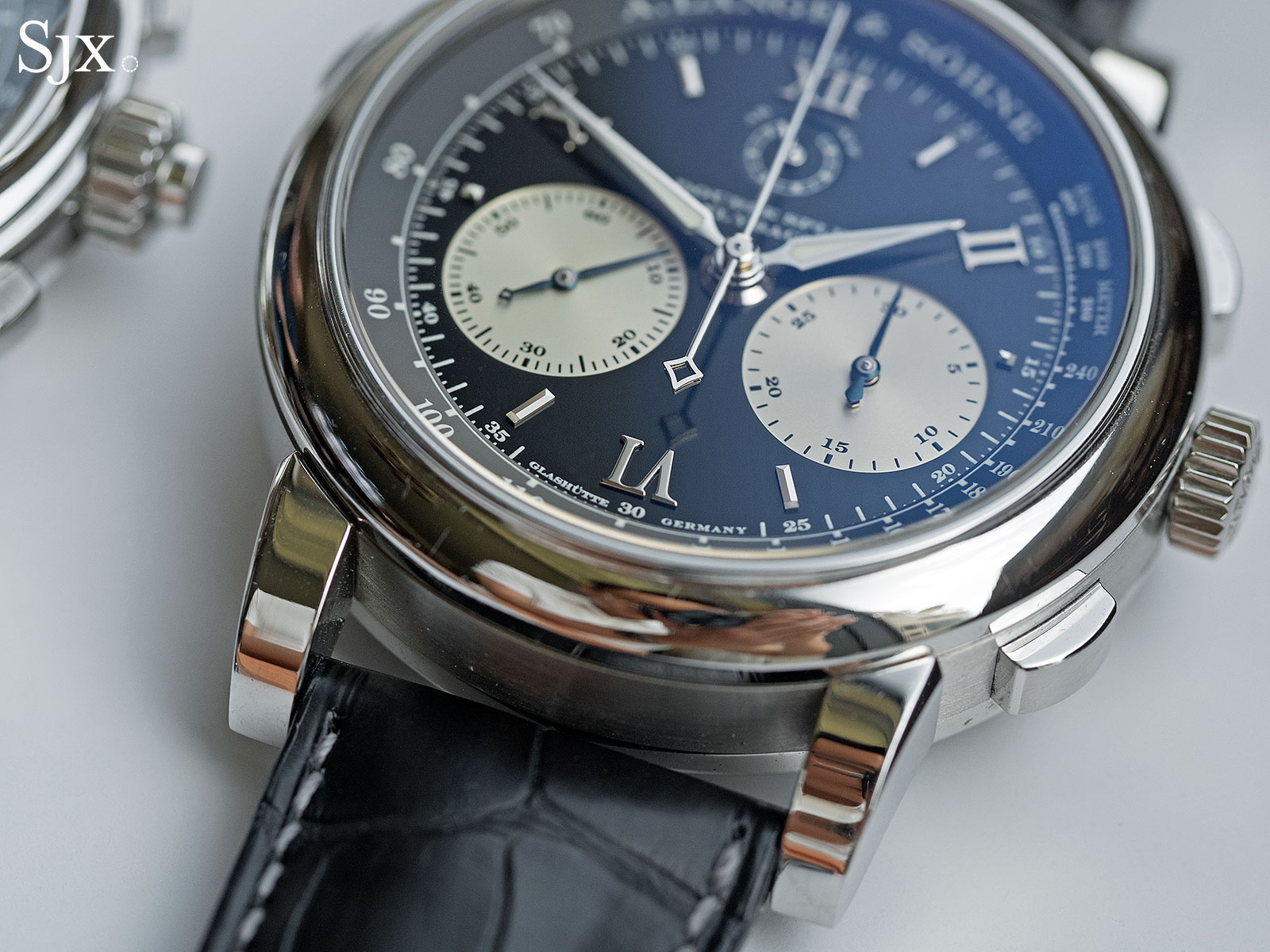 Lange Double Split Patek 5370 comparison 3