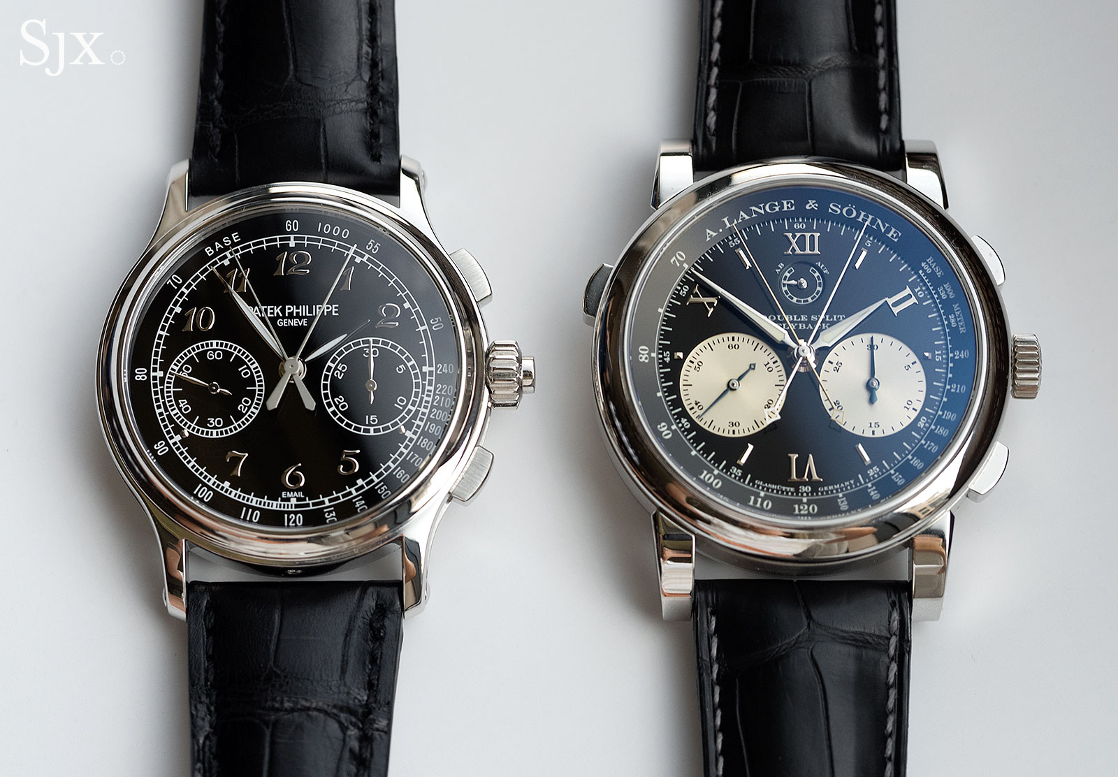 Lange Double Split Patek 5370 comparison 6