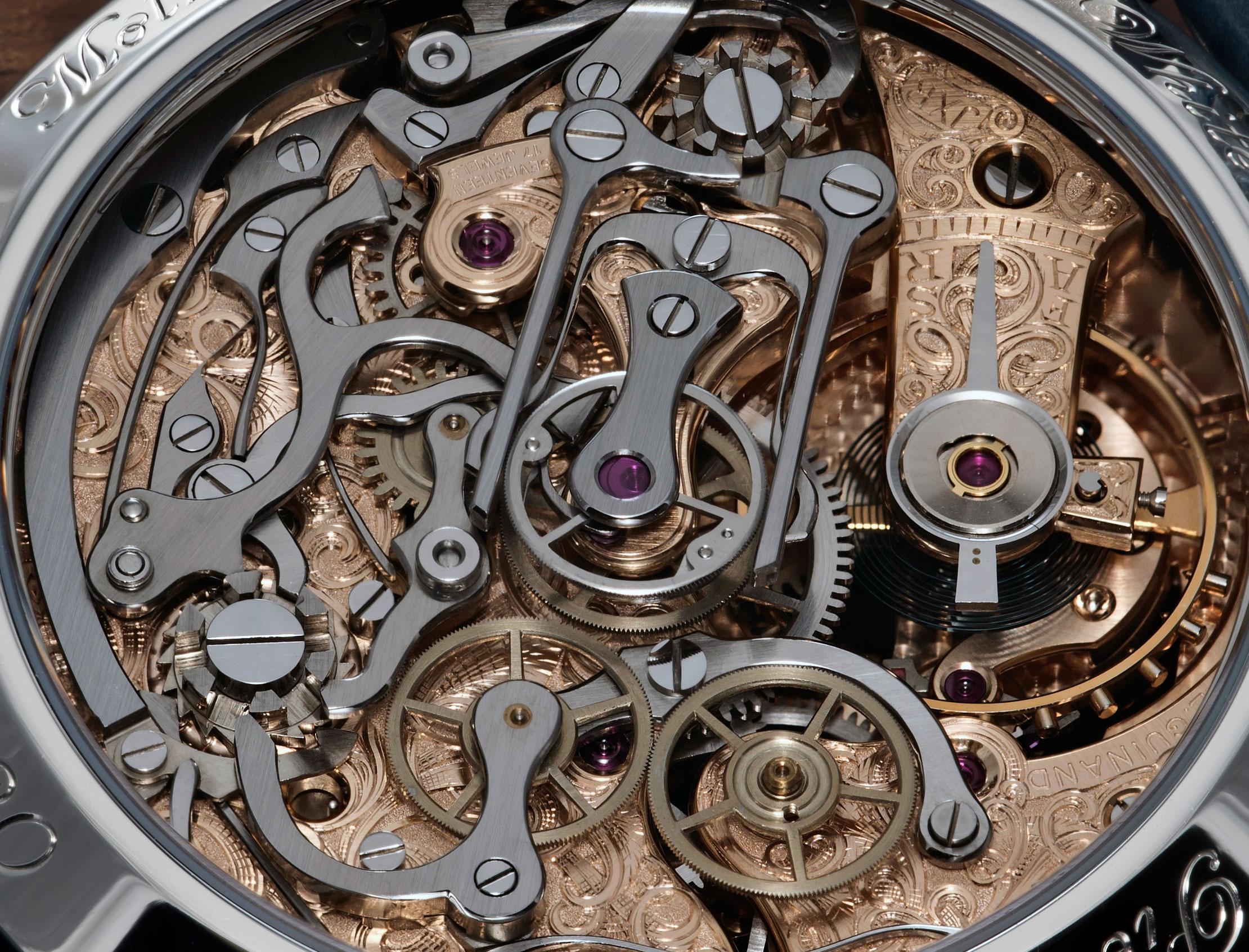 Molnar Fabry White Lotus Rattrapante Chronograph 7