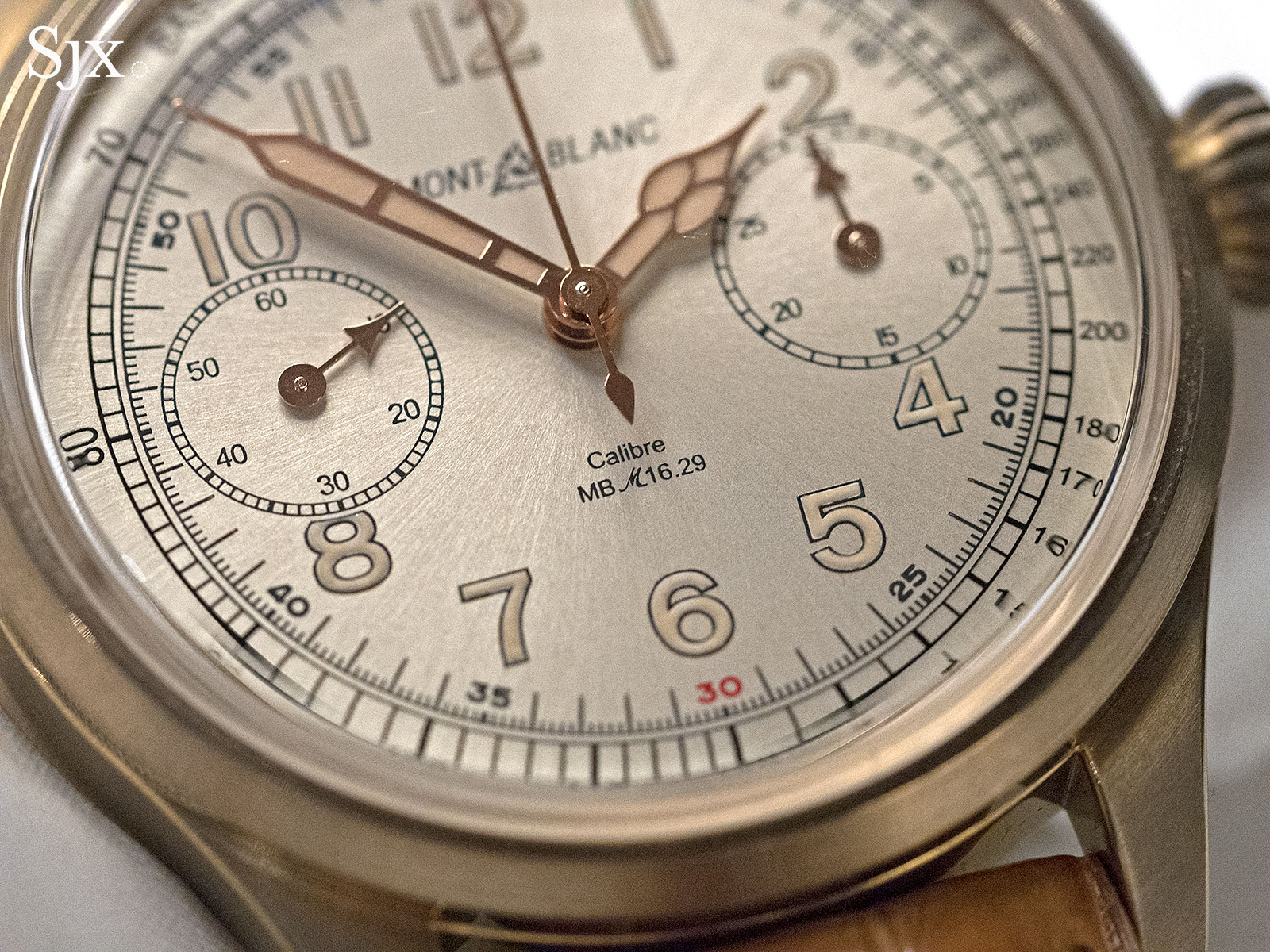 Montblanc 1858 Chronograph Tachymeter Bronze Limited Edition 3