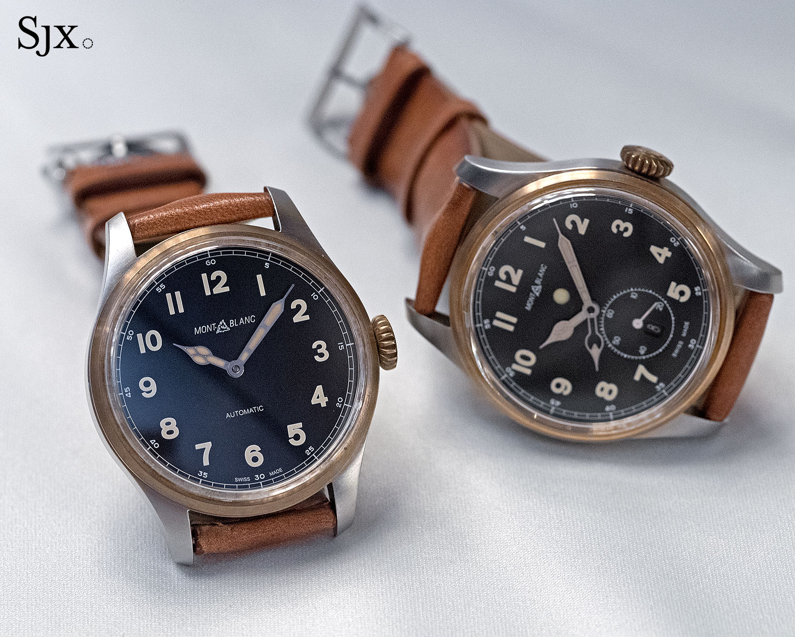 Montblanc 1858 bronze automatic and dual time