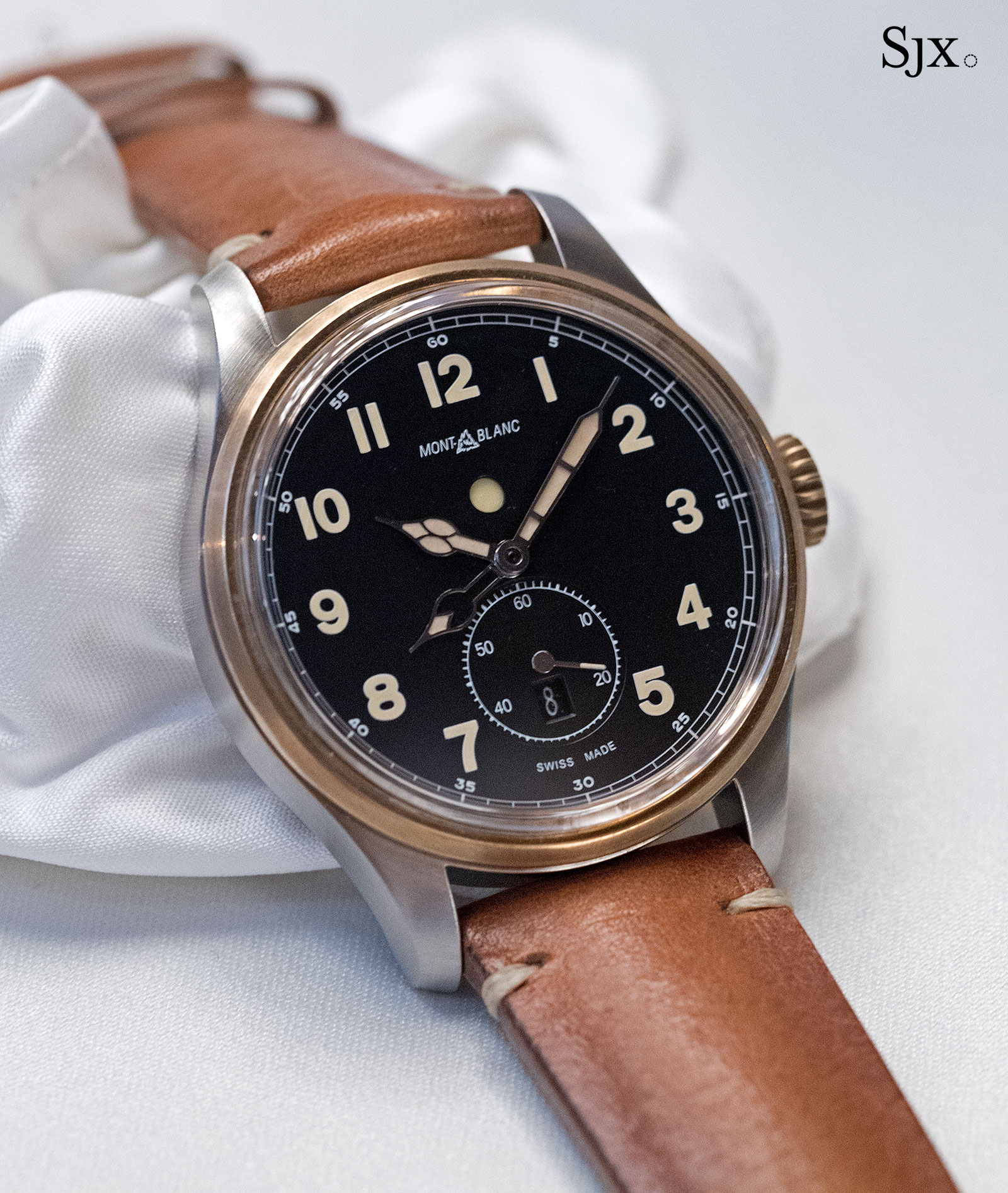 Montblanc 1858 bronze automatic dual time