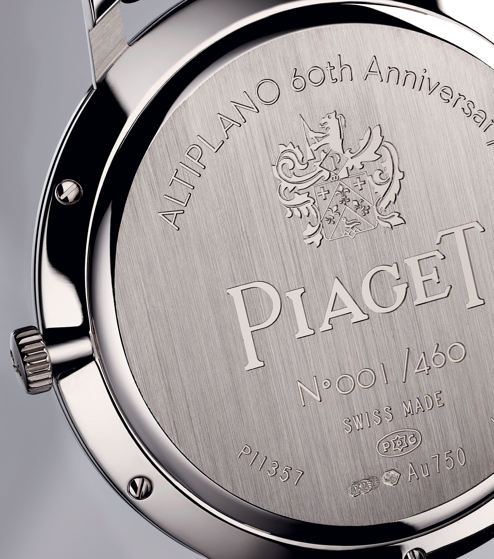 Piaget Altiplano 60th anniversary Collection - 38mm back