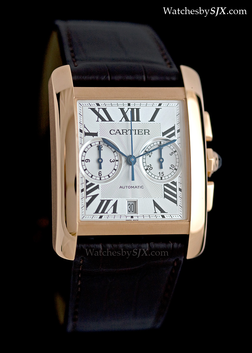 watches ladies rose leather tank anglaise cartier watch automatic brown brands gold bucherer