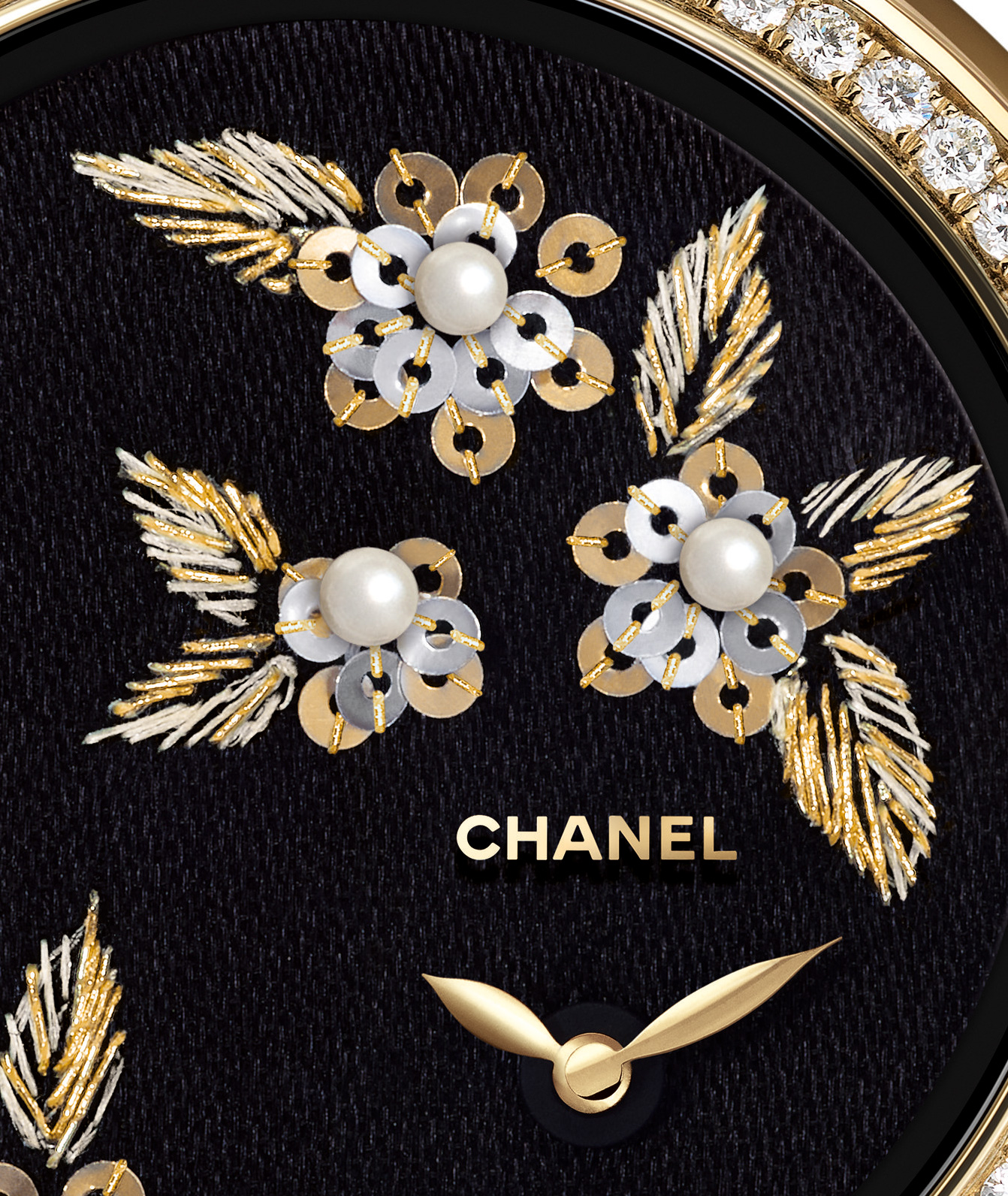 Chanel Unveils The Mademoiselle Priv Camlia With A Gold Diamond