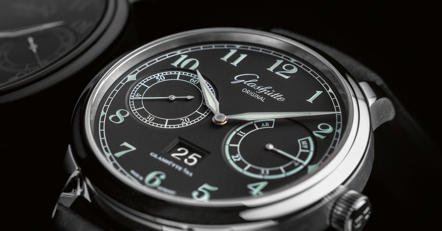 Glash tte original unveils the new senator observer a deck watch for the wrist with specs and