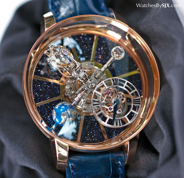 Hands on with the jacob co astronomia tourbillon sjx watches for Jacob co watches