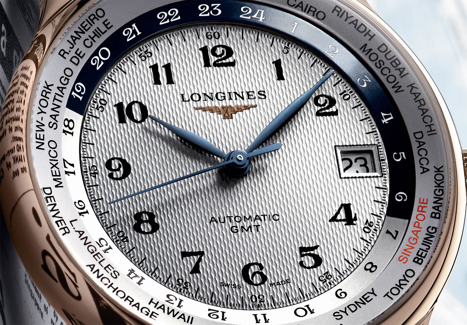 Introducing The Longines Master Collection Gmt World Time