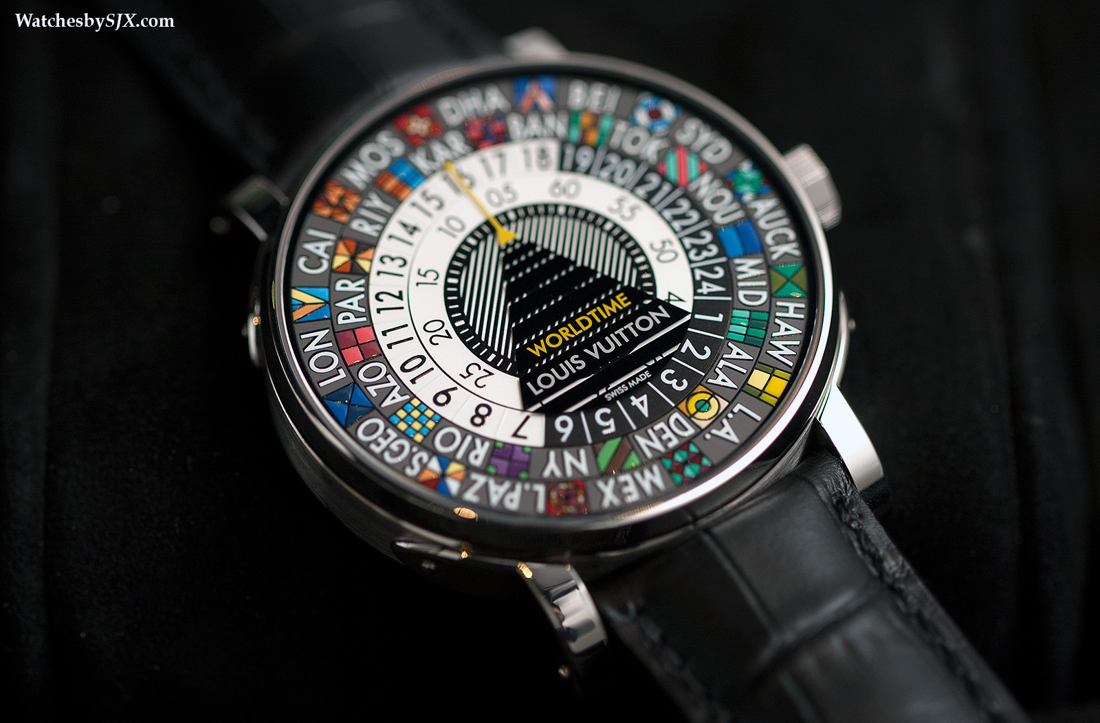 Introducing The Louis Vuitton Escale Worldtime With The