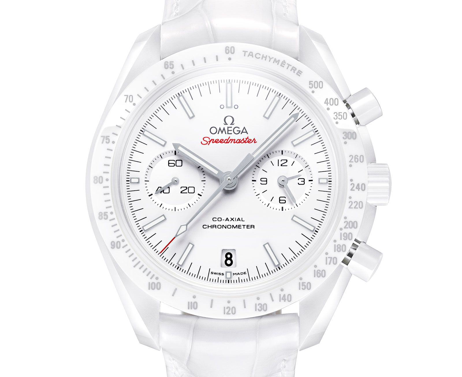 Omega Introduces The White Side Of The Moon The White