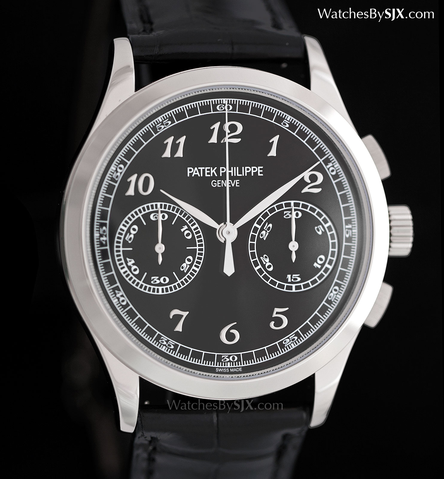 Up Close With The Patek Philippe 5170g Black Dial With Breguet
