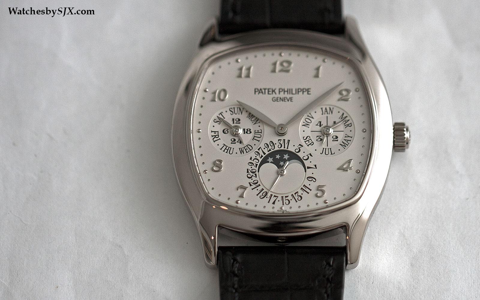 Perpetual Calendar Patek : Patek philippe split seconds perpetual calendar ref