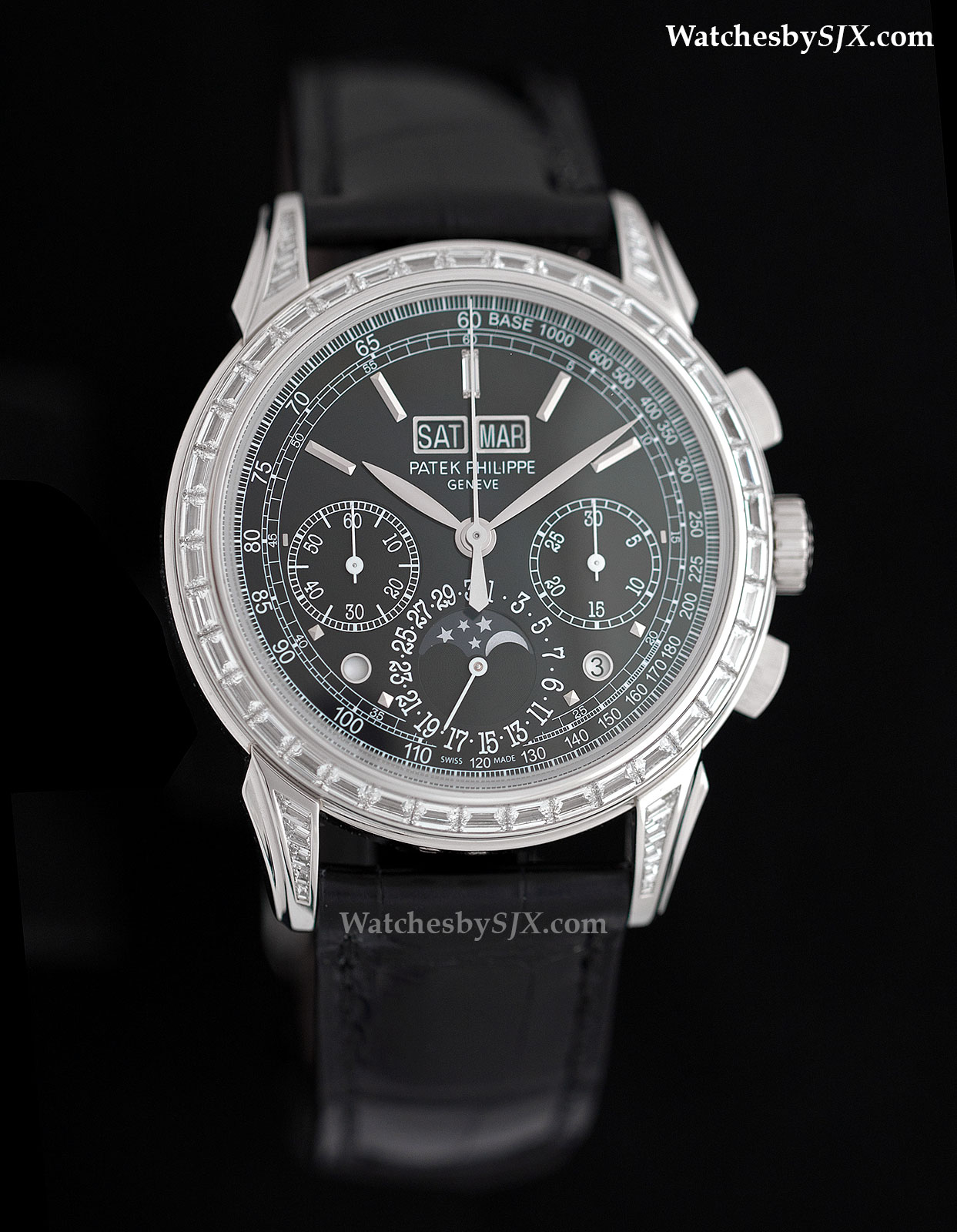 Patek philippe watch with diamonds for Patek phillipe watch