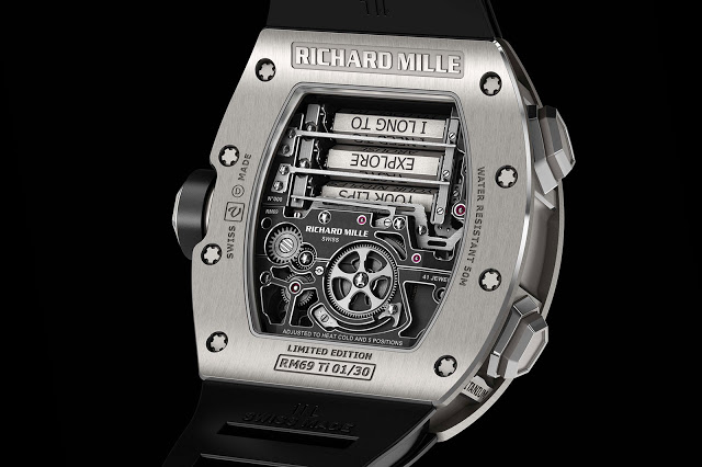Up Close With The Richard Mille Rm 69 Erotic Tourbillon Sjx Watches