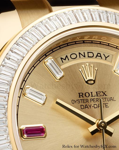 Rolex bling at Baselworld 2012 including the Rainbow Daytona