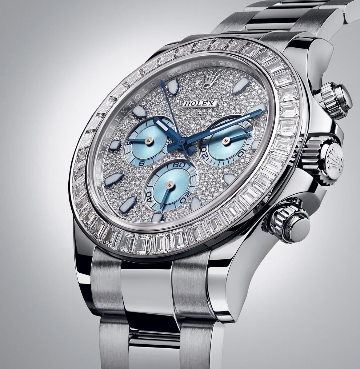 Baselworld 2014 Introducing the Rolex Daytona Platinum with