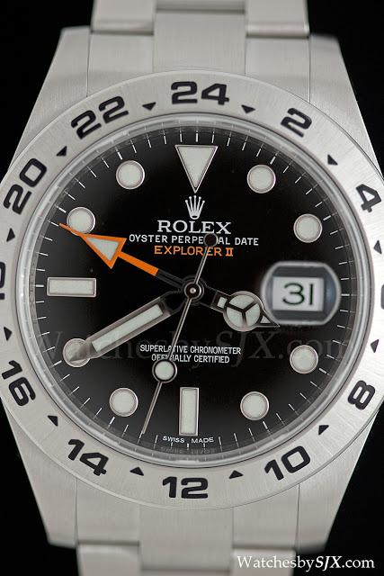 Up Close With The New Rolex Explorer Ii Ref 216570 Sjx