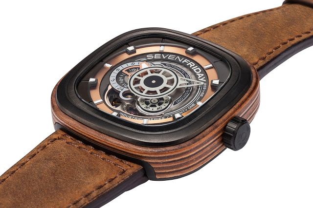 Sevenfriday Introduces The P2b 03 Woody Clad In