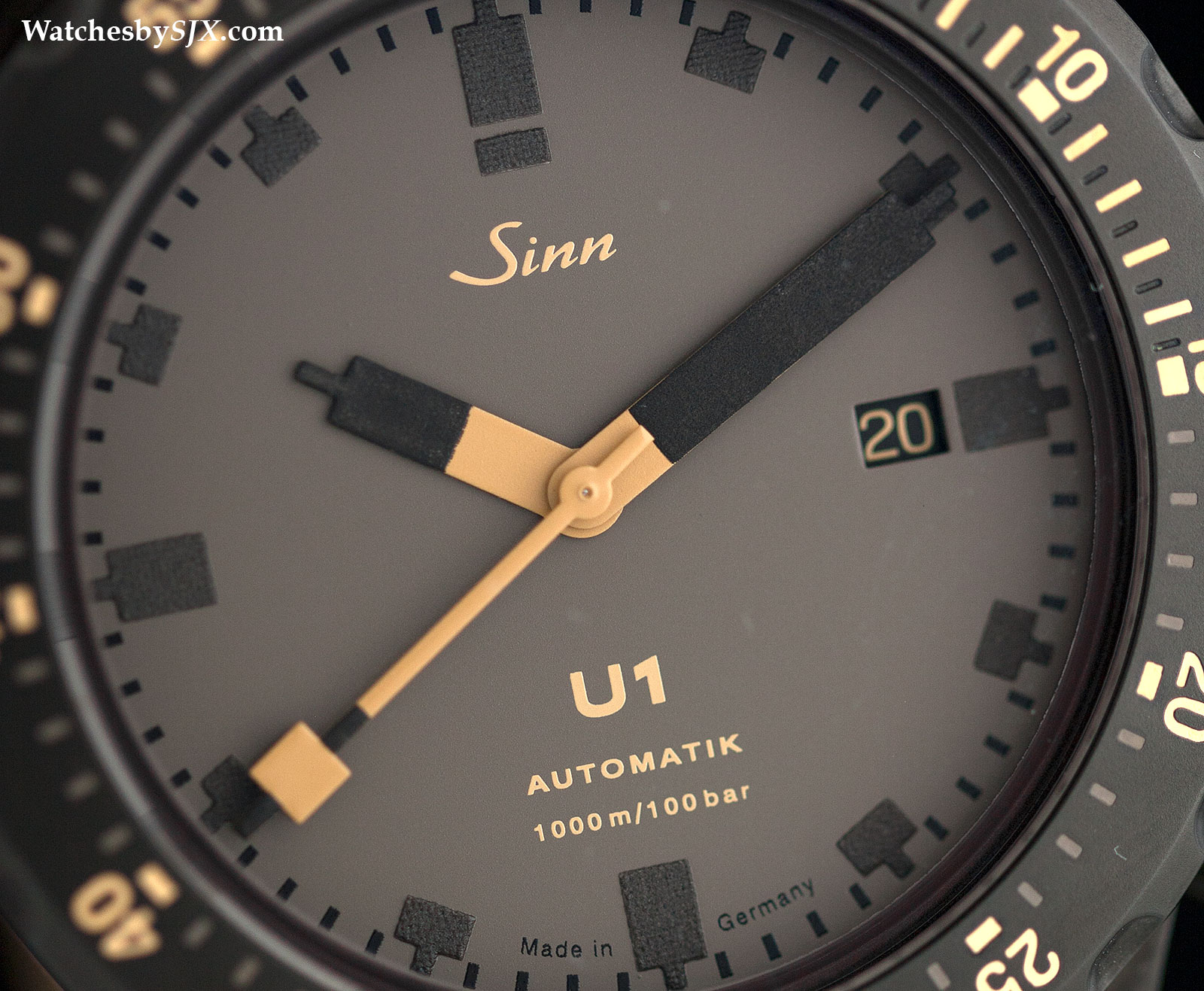 Sinn u1 d limited edition with photos specs and price watches by