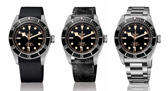 Tudor introduces the heritage black bay black with prices - Tudor dive watch price ...