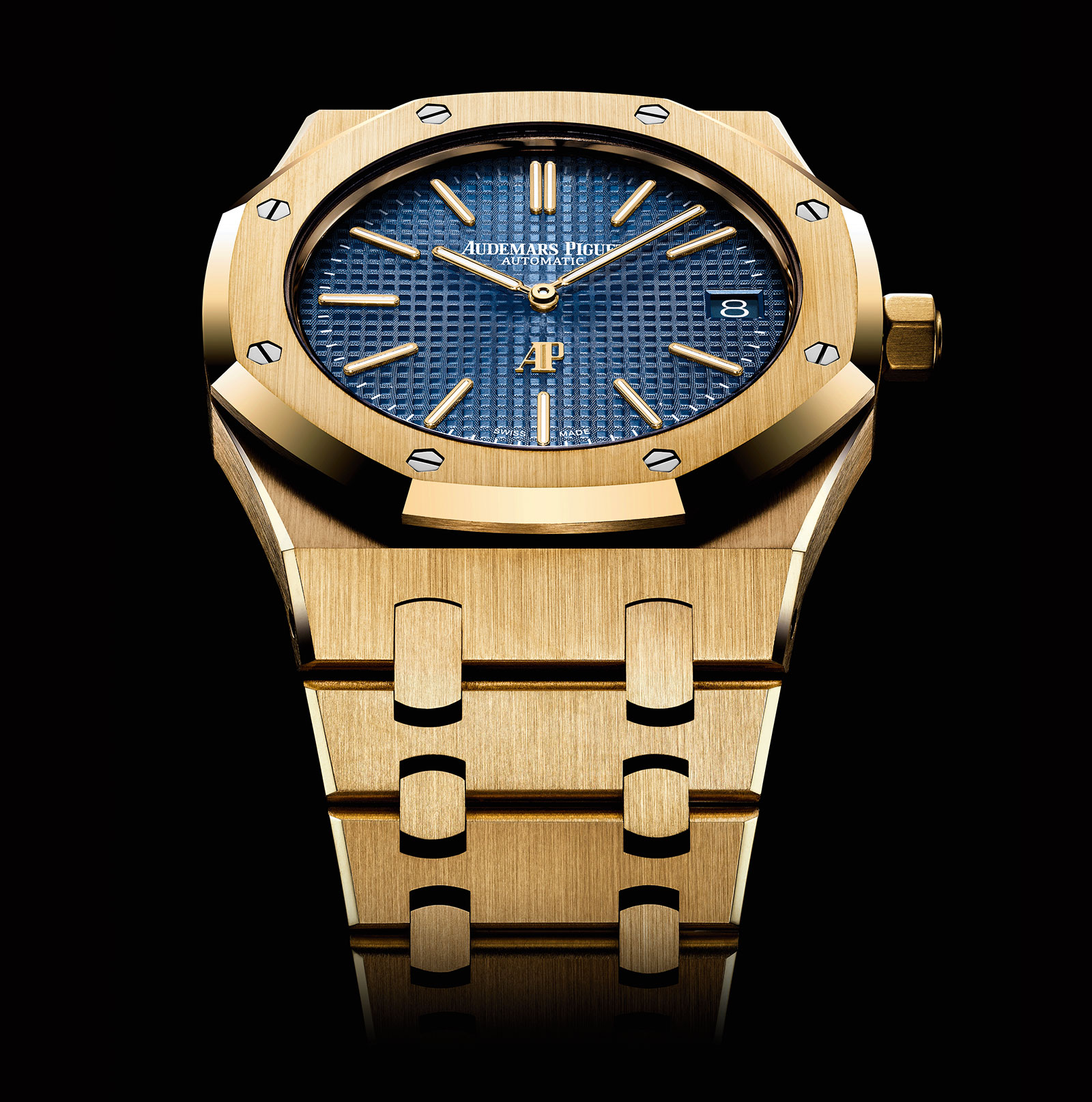 Audemars Piguet Royal Oak Extra-Thin Yellow Gold 2