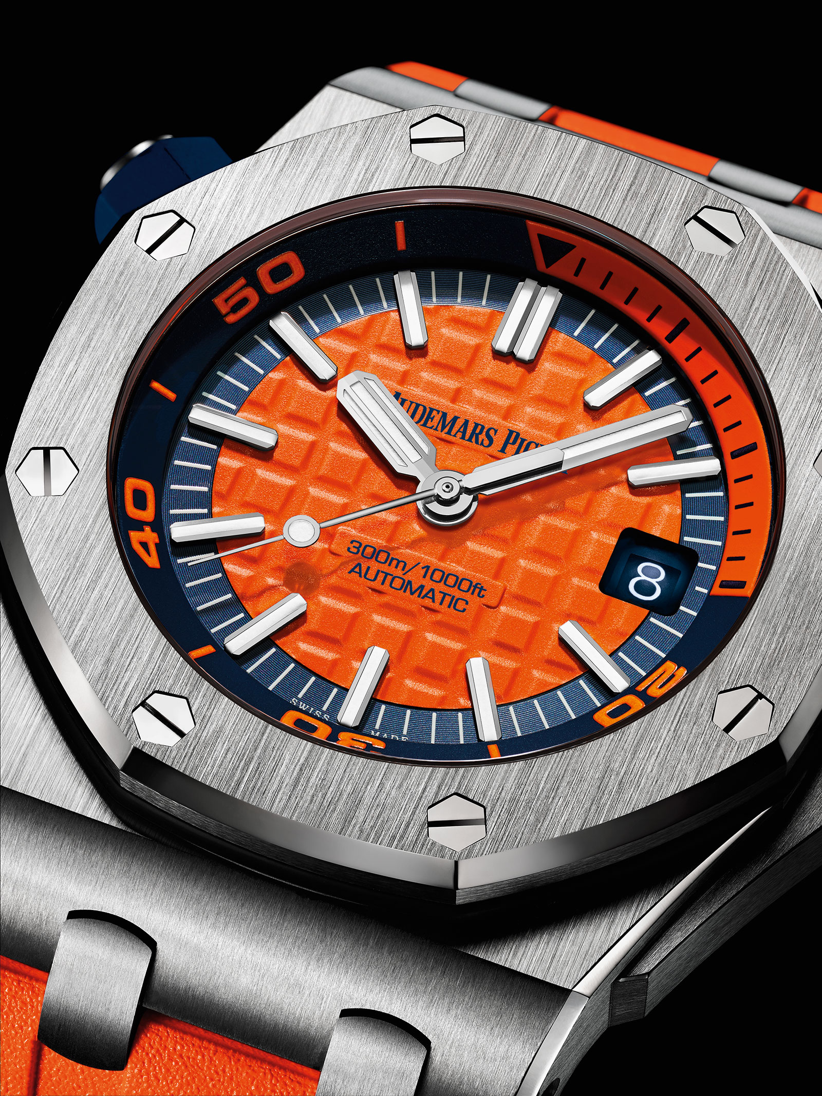 "AP Royal Oak Offshore Diver ""Funky Colour"" replica"