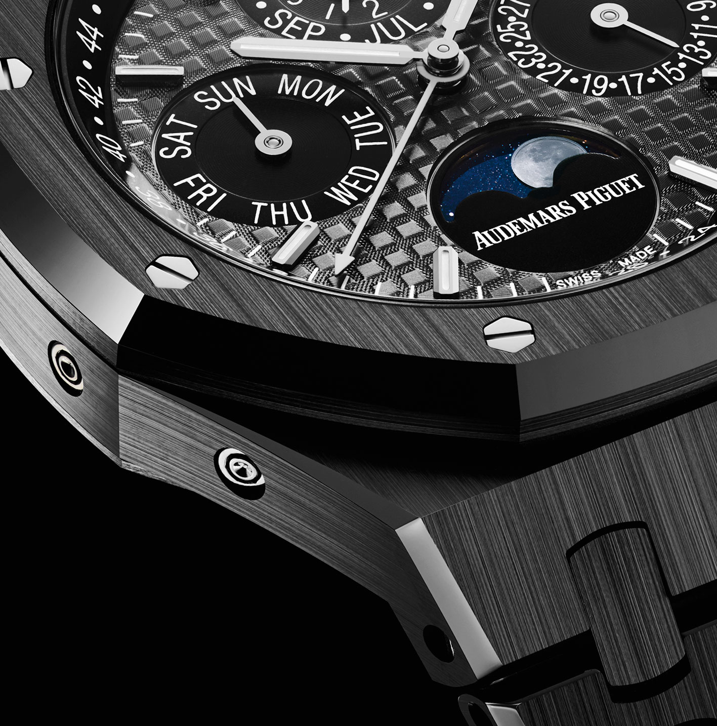 Audemars Piguet Royal Oak Perpetual Calendar Black Ceramic 2