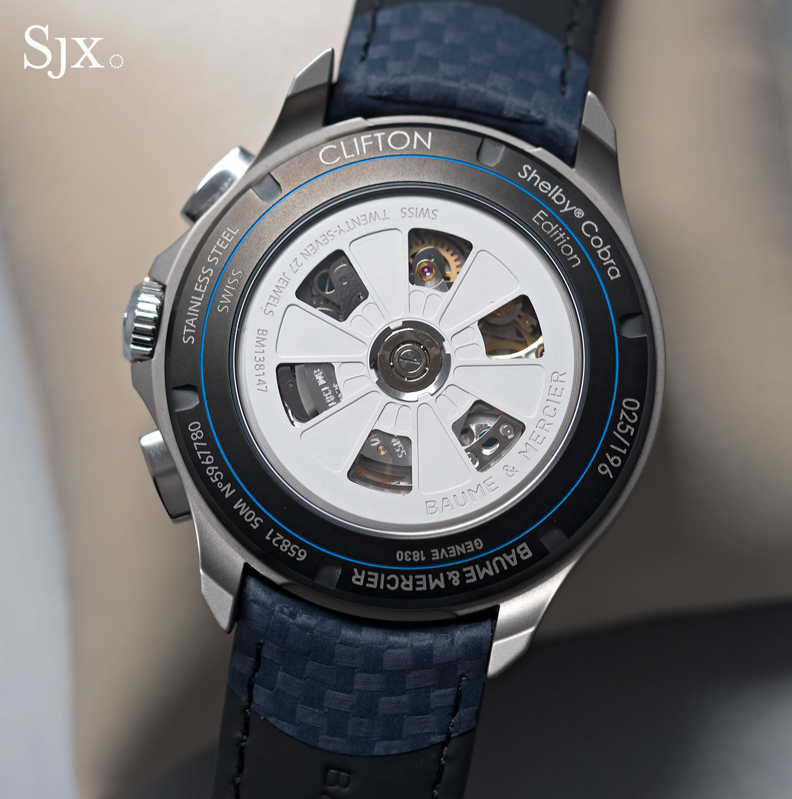 Baume & Mercier Clifton Club Shelby Cobra CSX2299-3